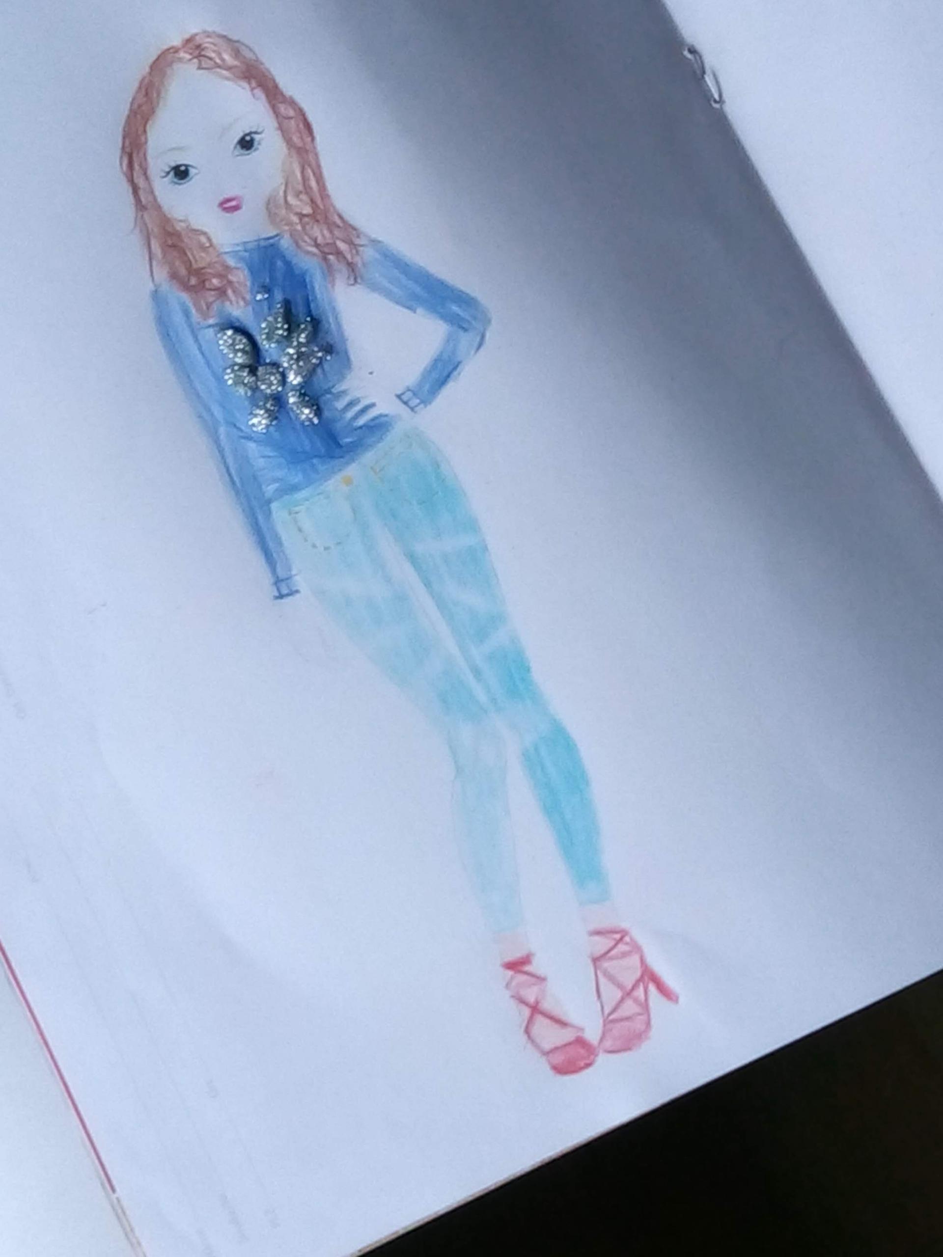 Lis D., 7 år