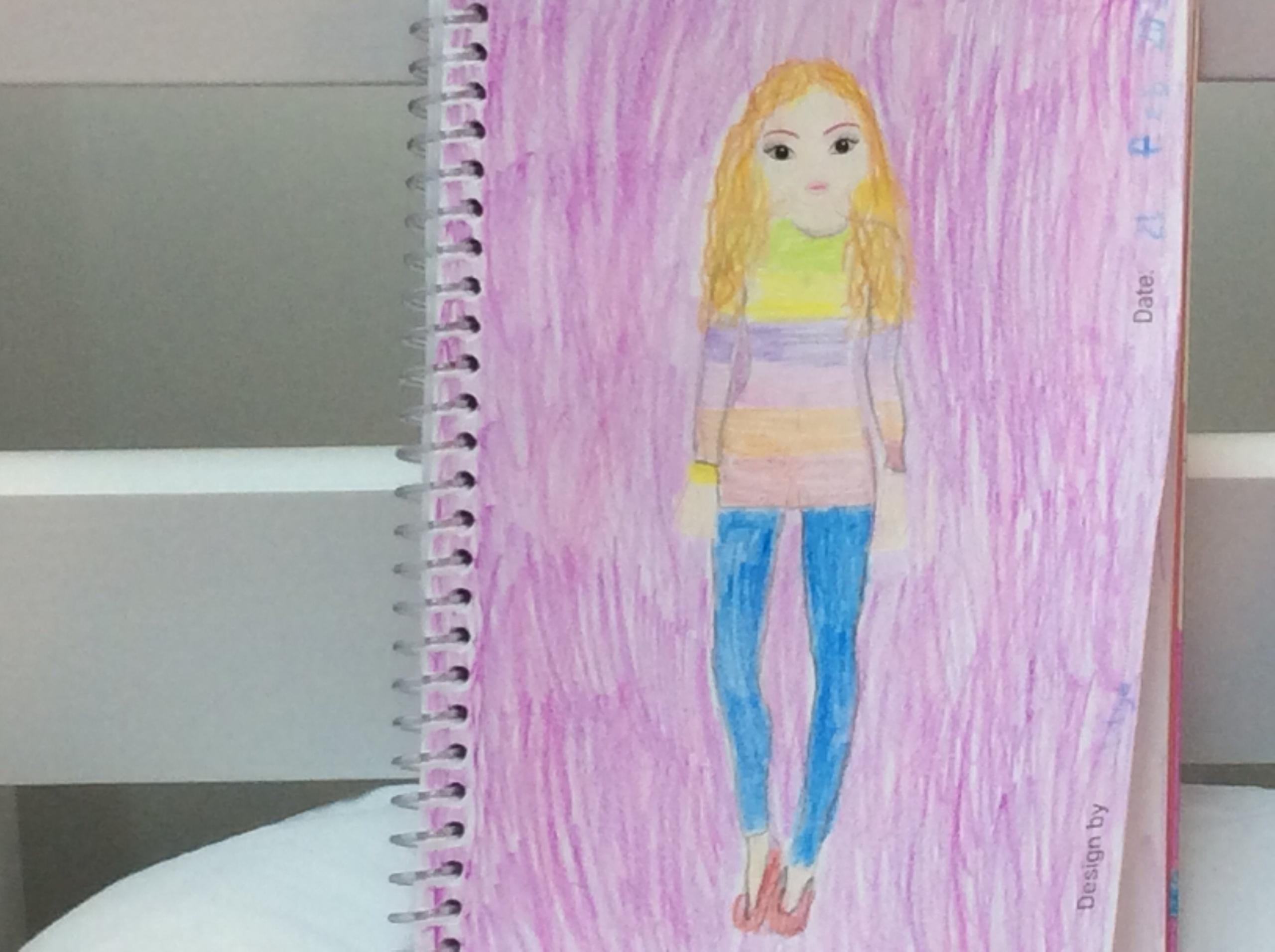 Lilya  E., 9 år, fra Hvidovre