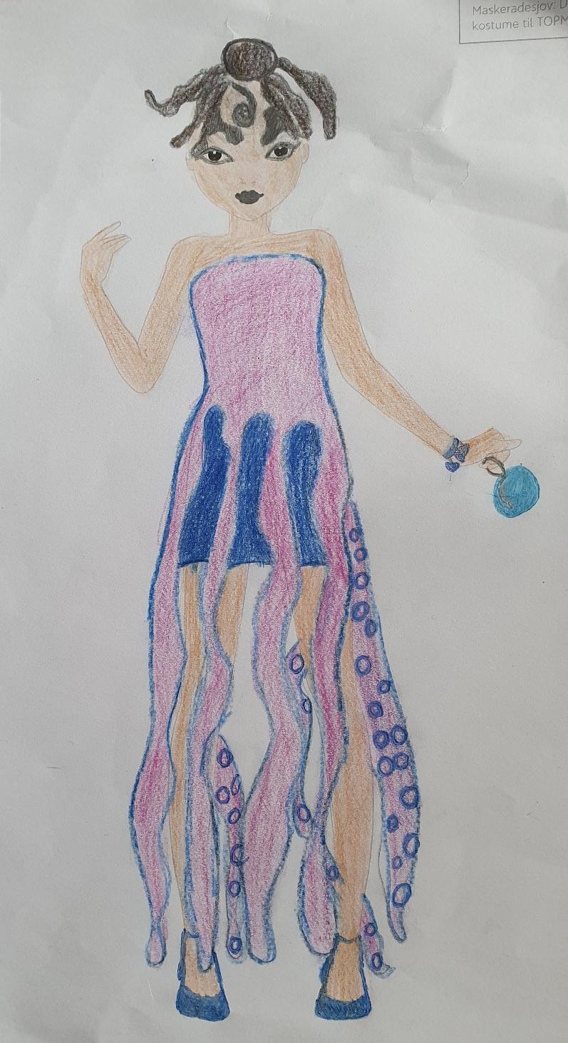 Amalie Sofie  T., 11 år, fra Horsens