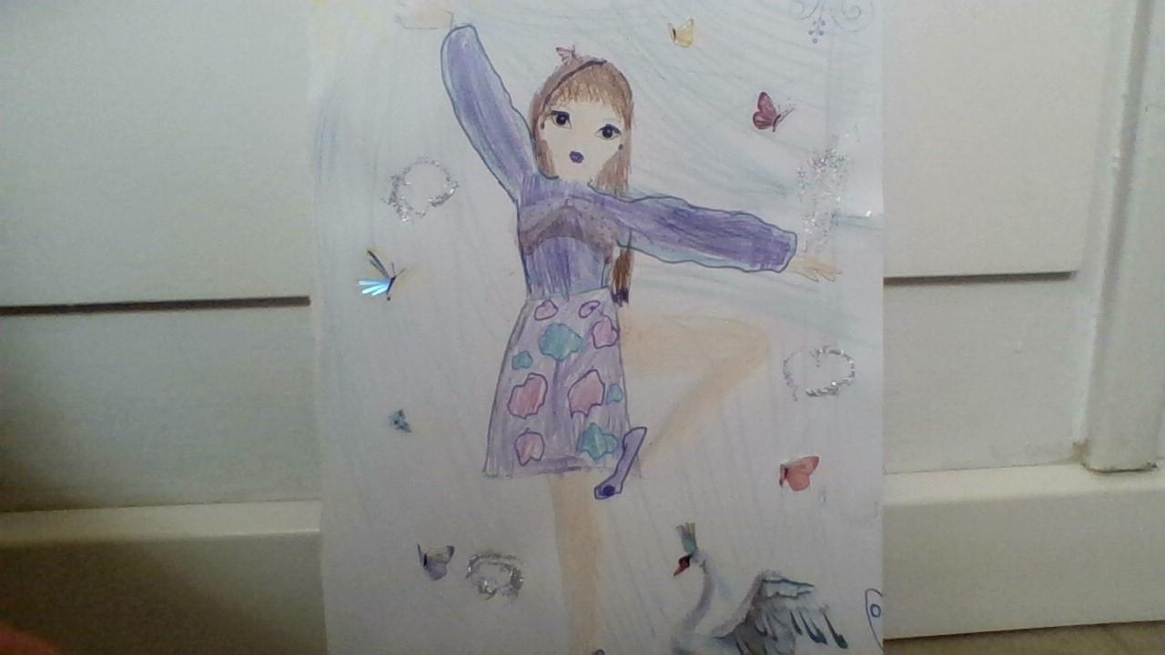 Diana C., 8 år, fra Ikast