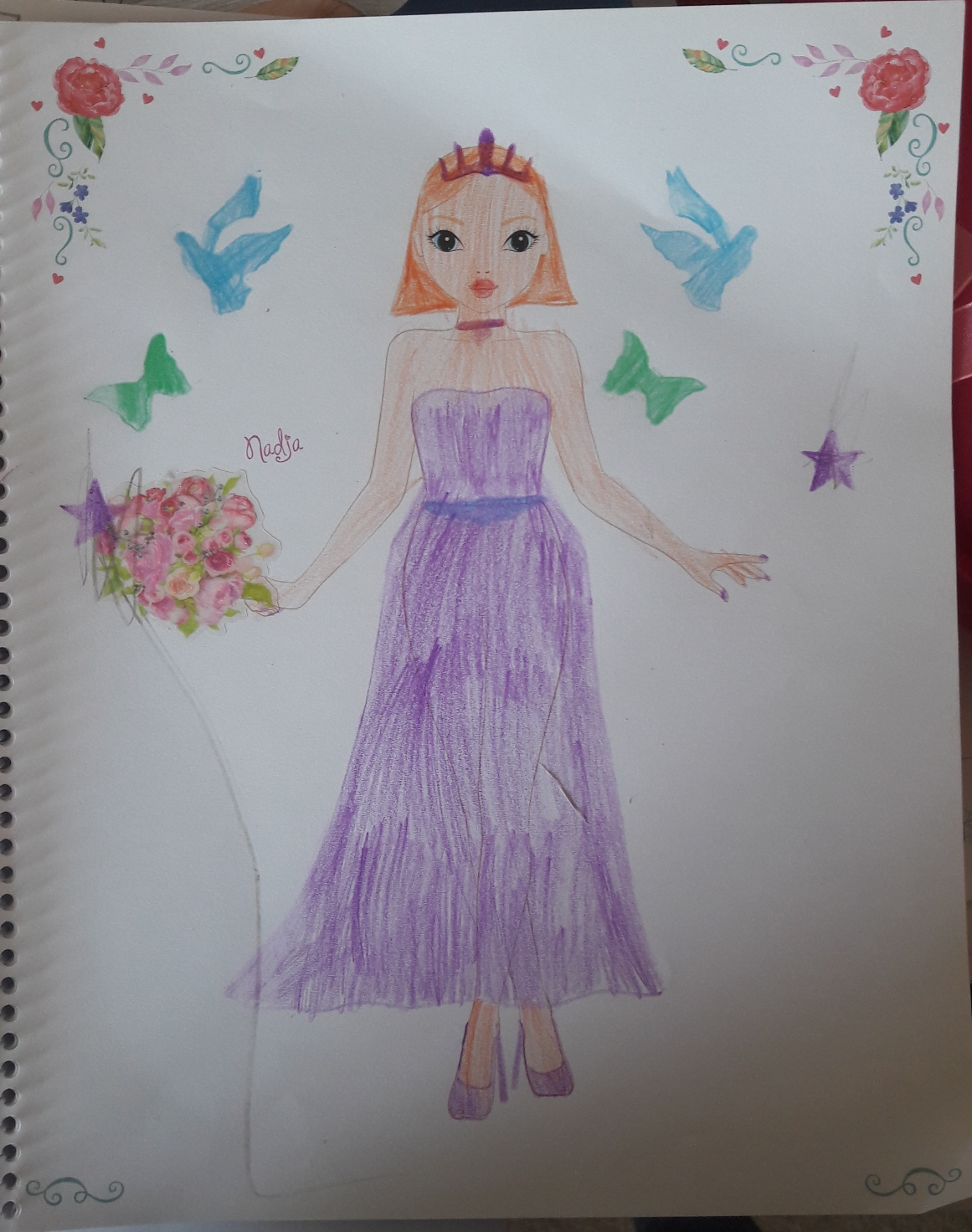 Naomi L., 9years, from Nice, France