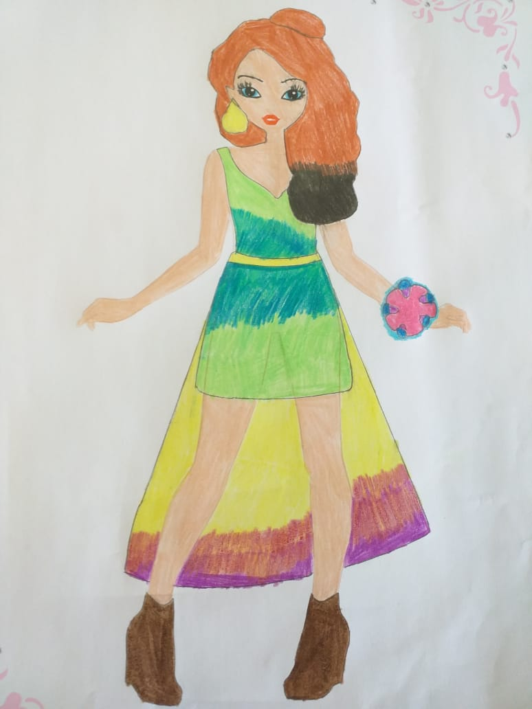 Olivia H., 10years, from Johannesburg, South Africa