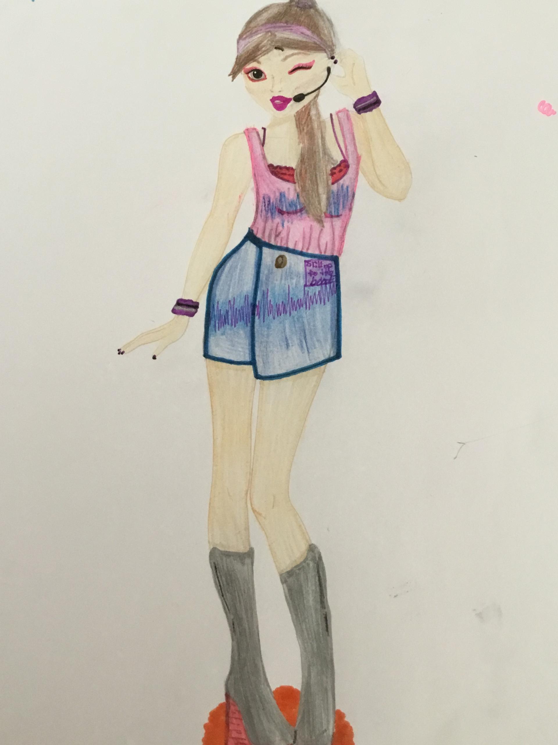 Nisha A., 9years, from Malllorca