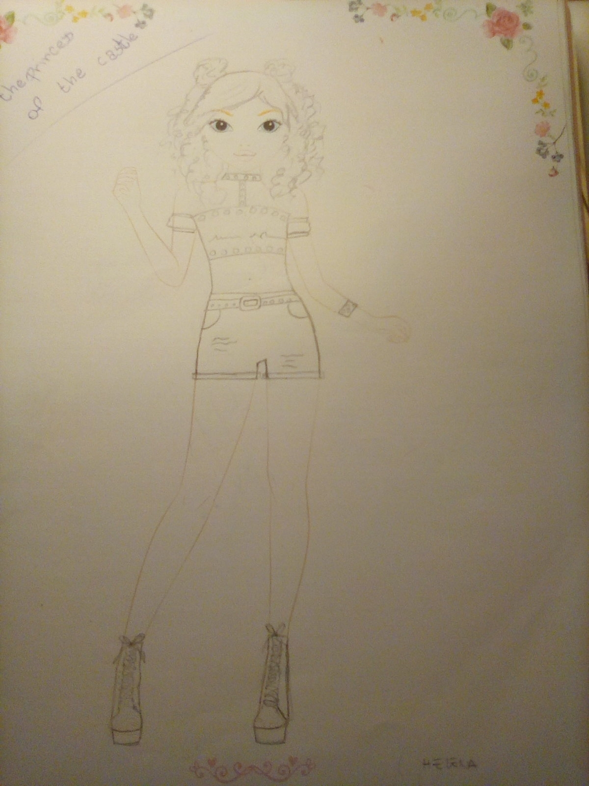 Elisa C., 11years, from Milano
