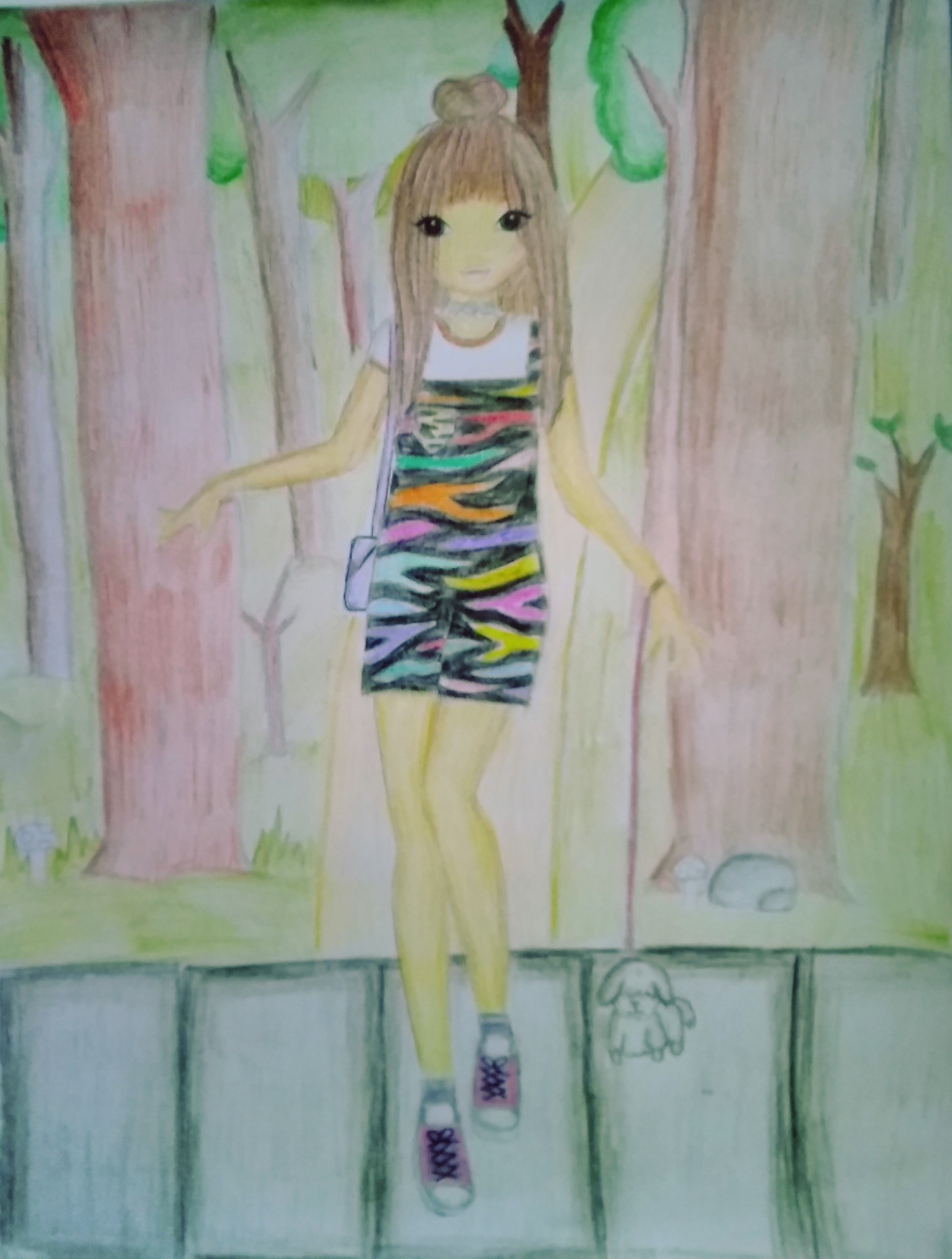 Jacklyn K., 12years, from South Africa