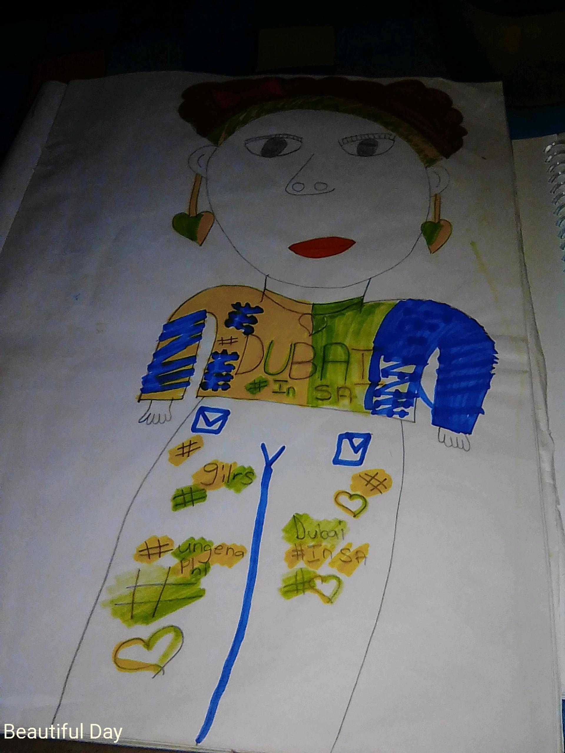 Maya C., 11years, from Durban