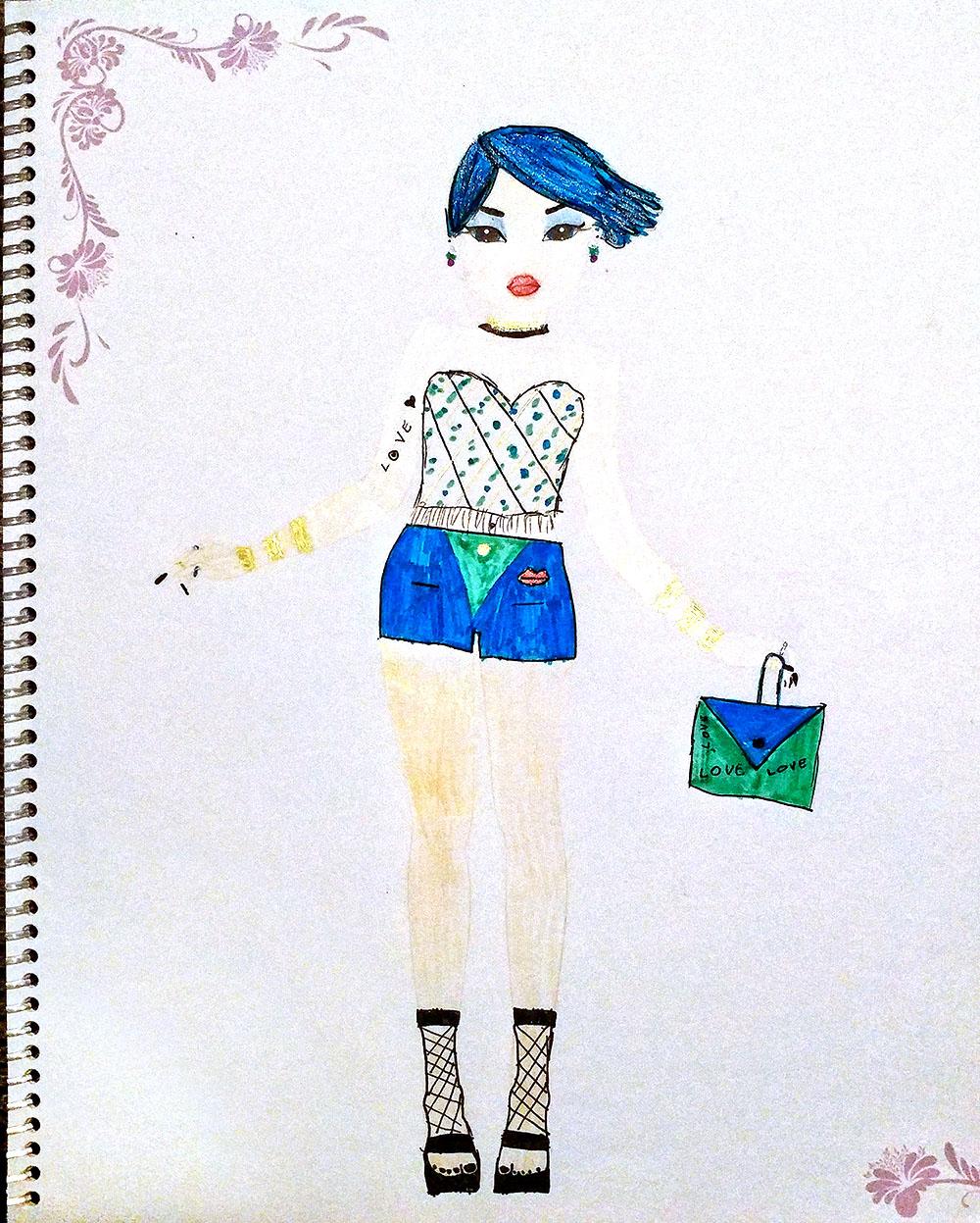 Amelija Z., 8years, from Lithuania