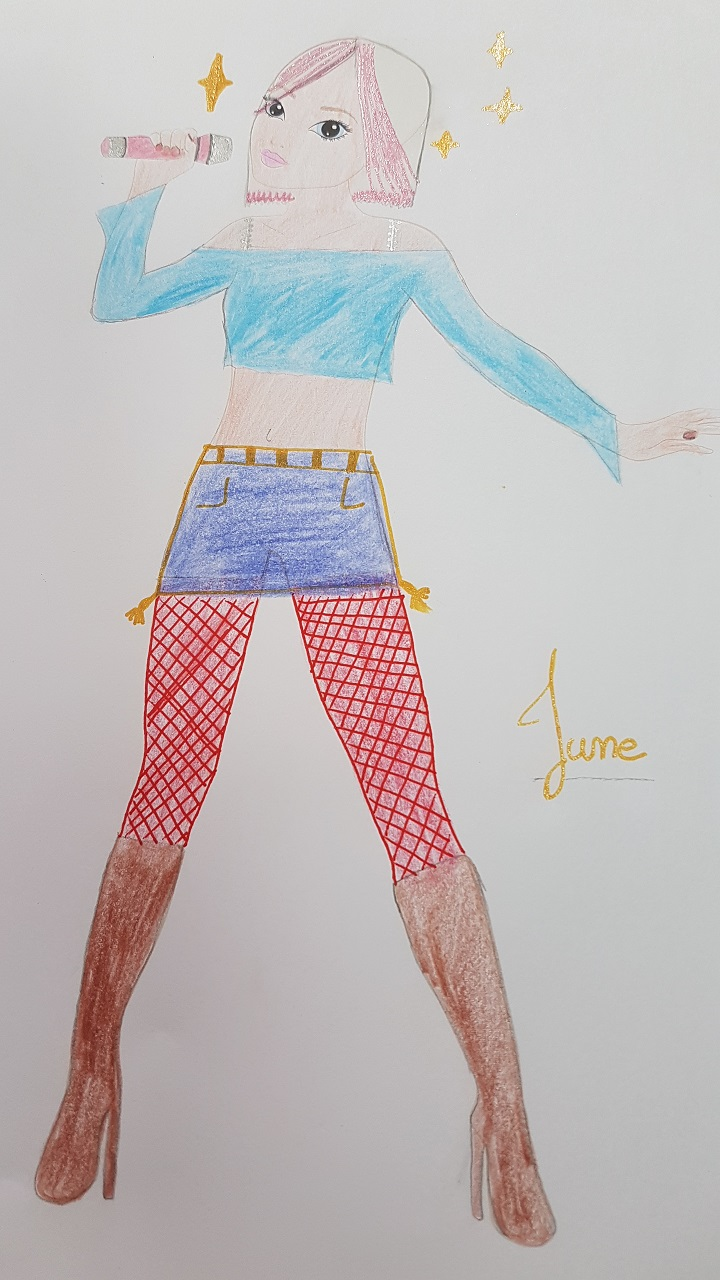 thelma R., 11 years, from rennes