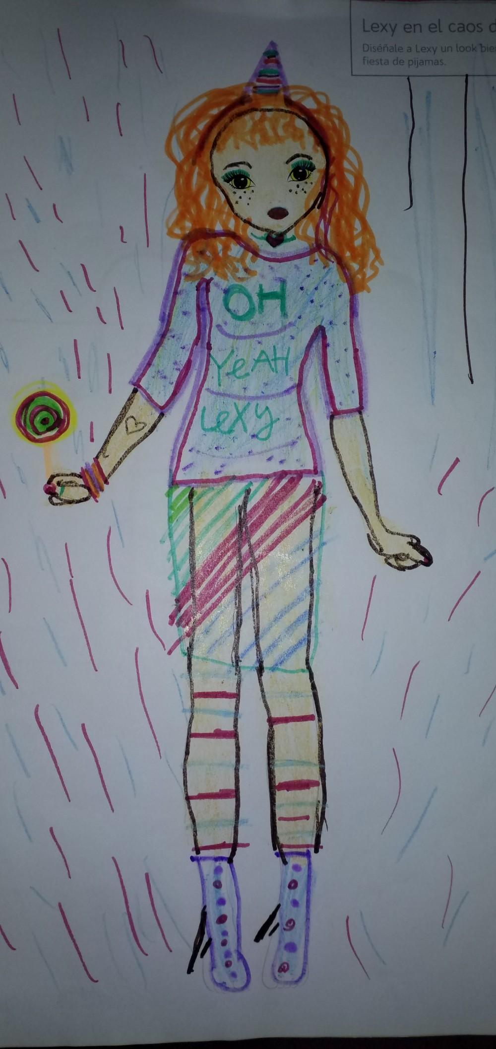 Victoria P., 8 años, de Madrid
