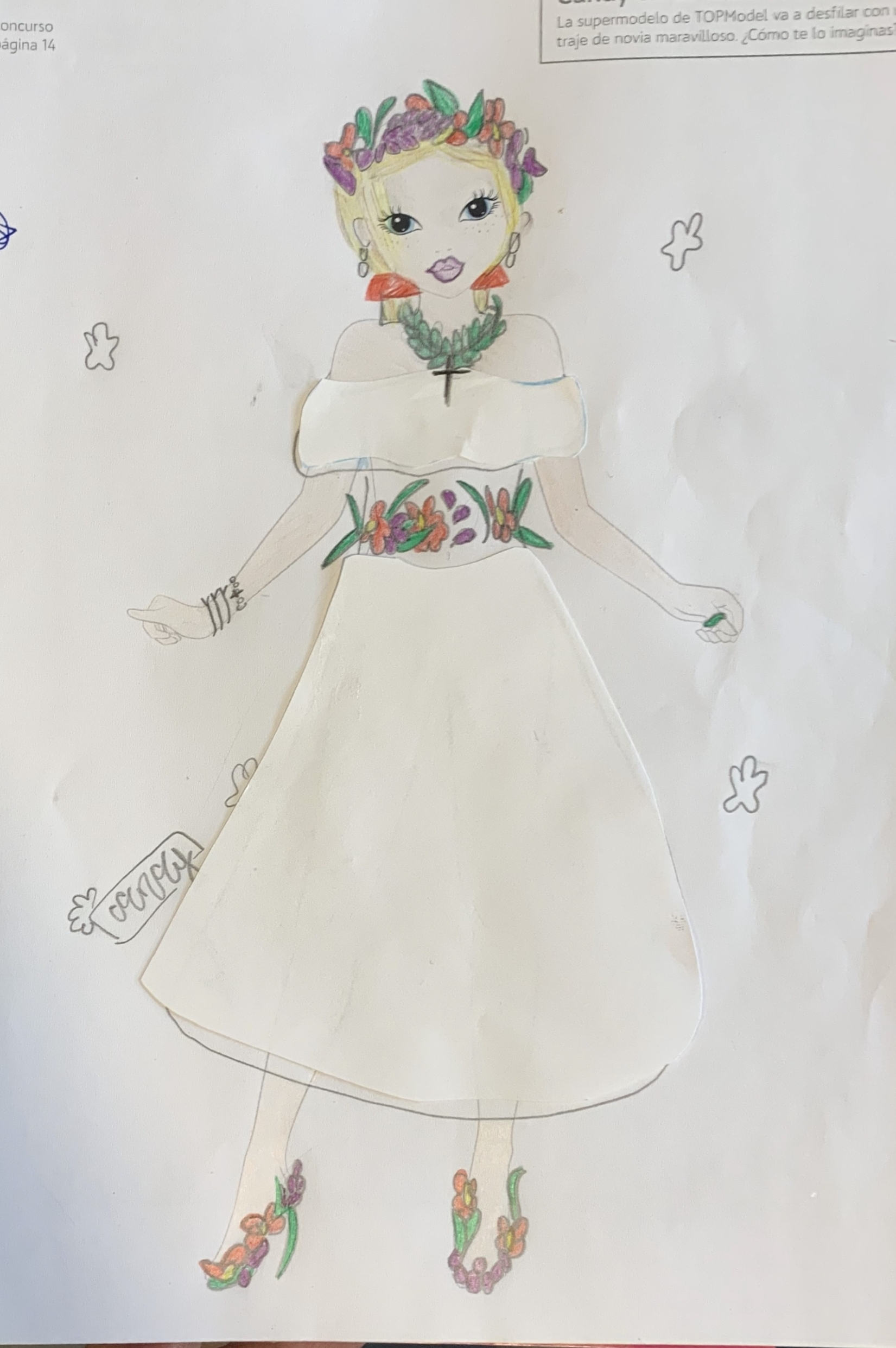 Teresa T., 9 años, de Madrid