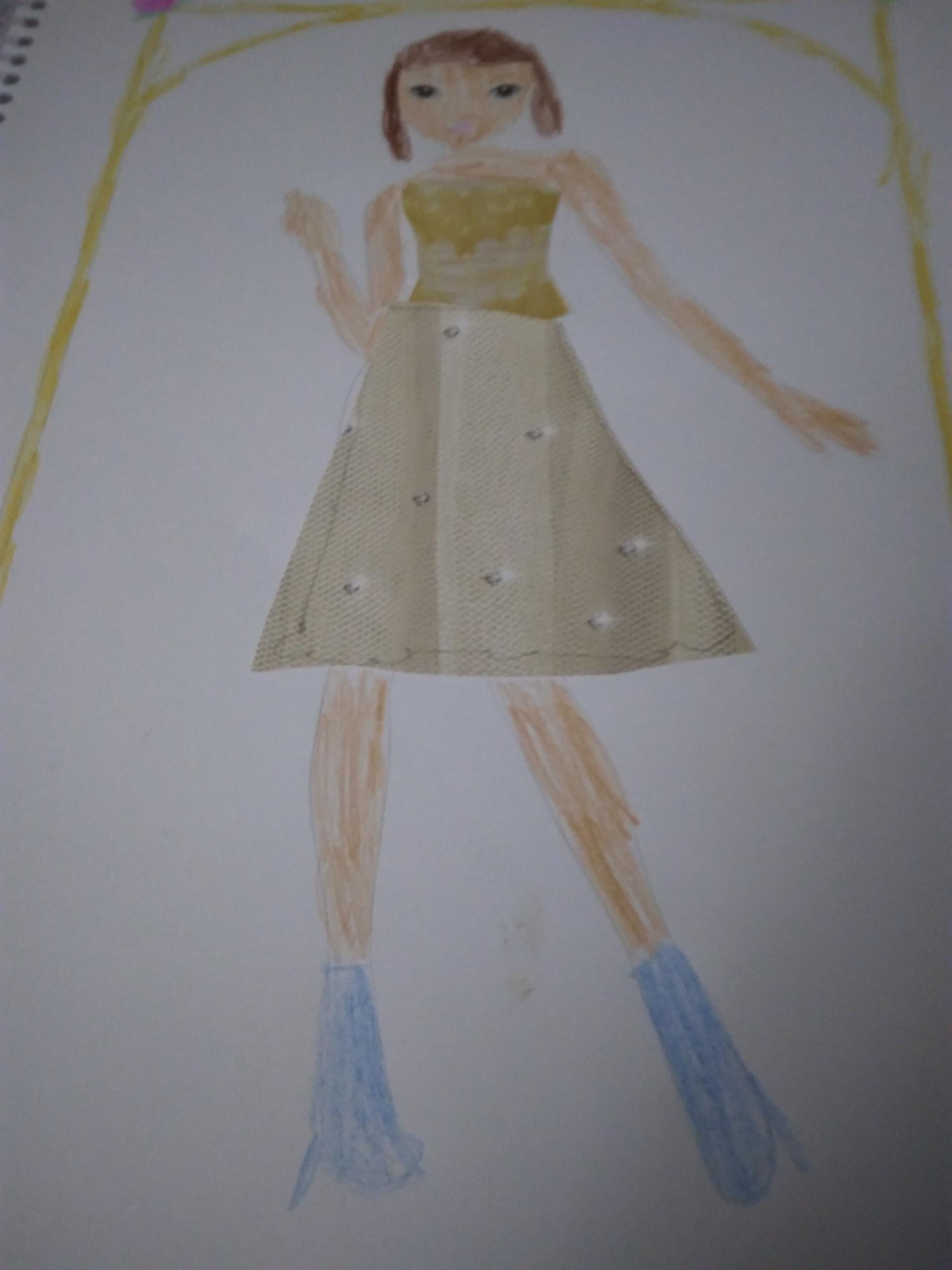 maria p., 8 años, de España