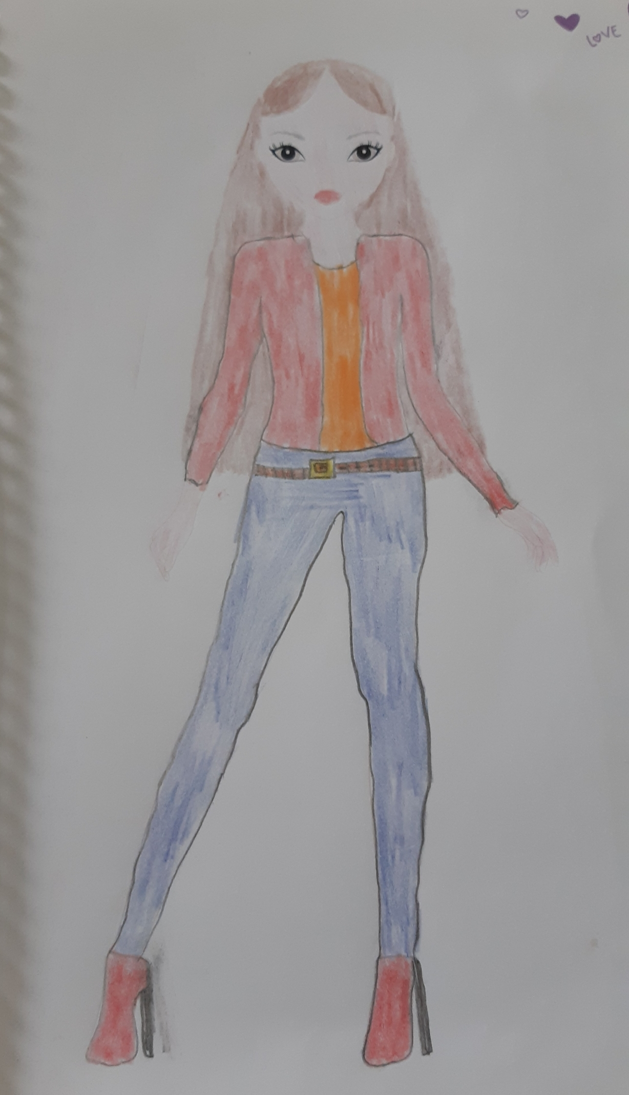 Violetta F., 9 años, de Cordoba