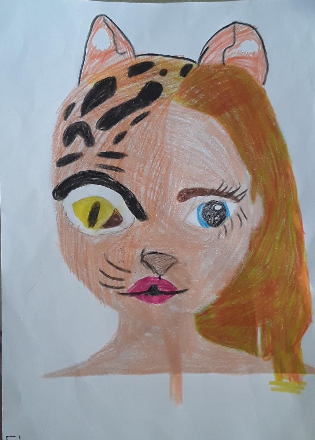ELENA B., 7 años, de Cabo de Palos