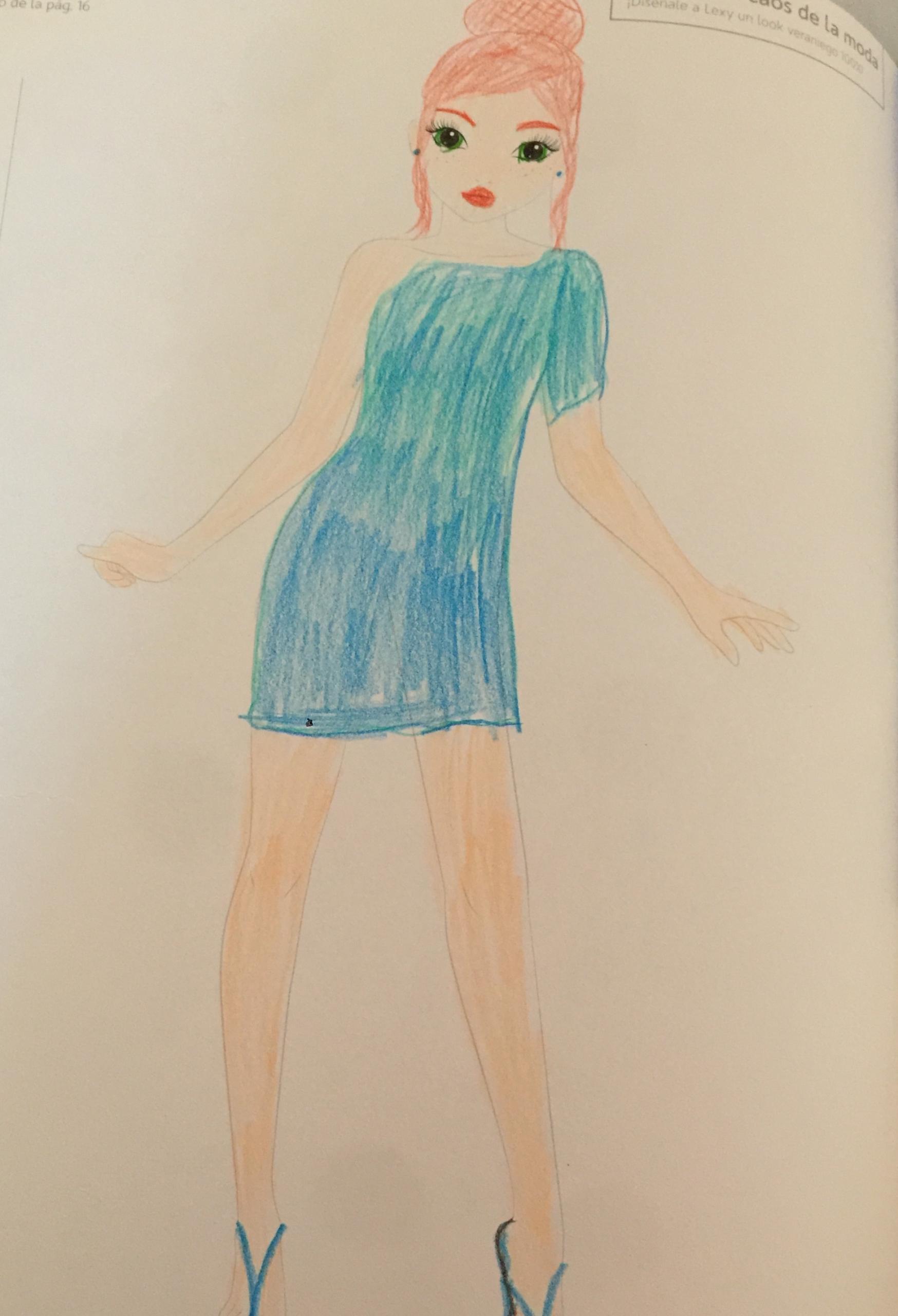 Alejandra C., 8 años, de Las Rozas De Madrid