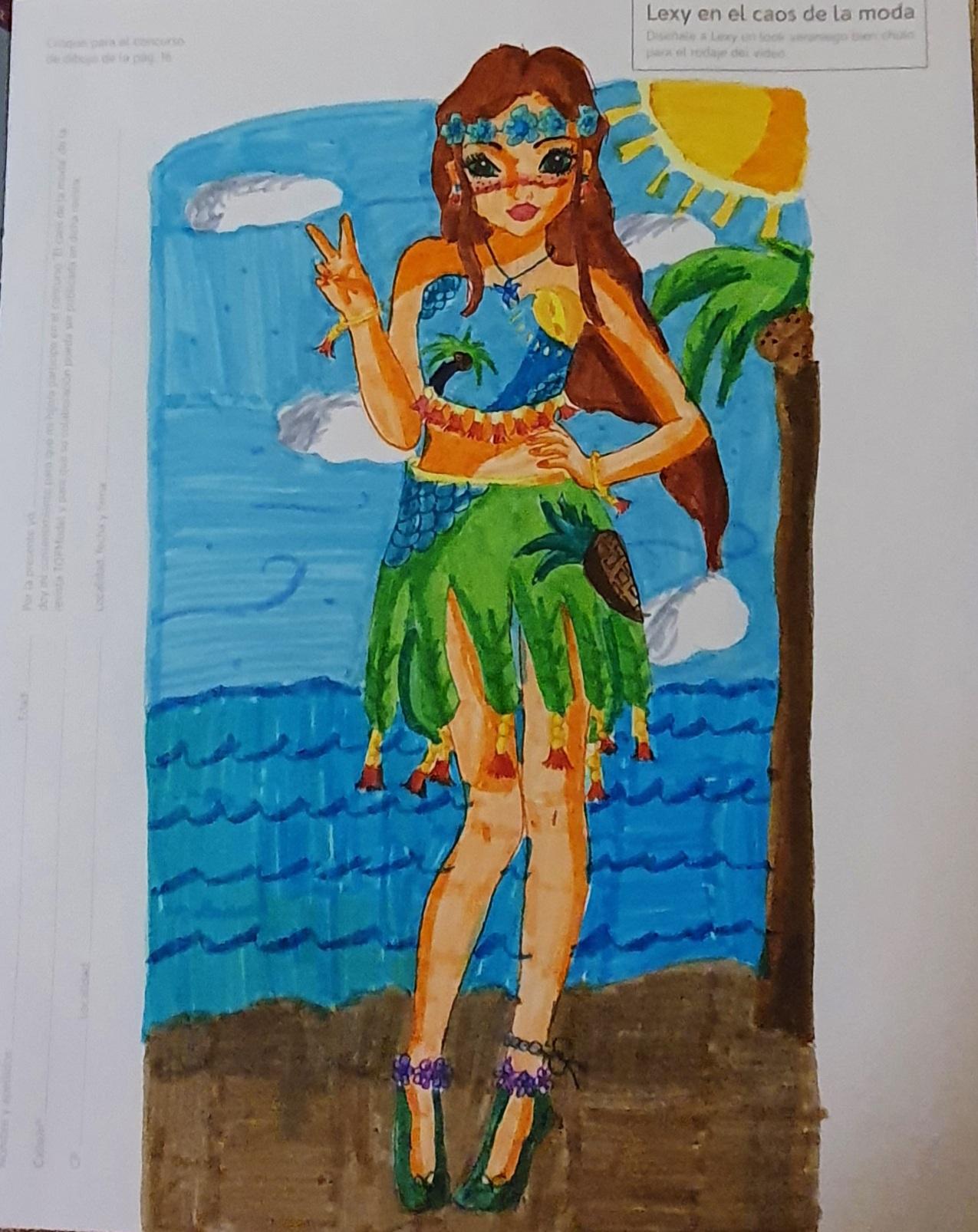 Tania  R., 11 años, de Las Palmas de Gran Canaria