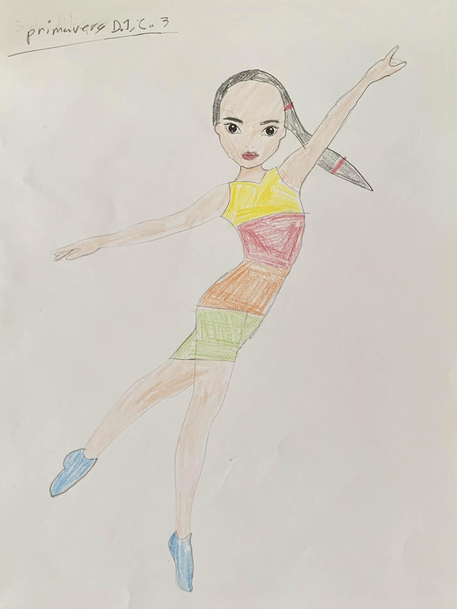 Amelie E., 10 años, de México