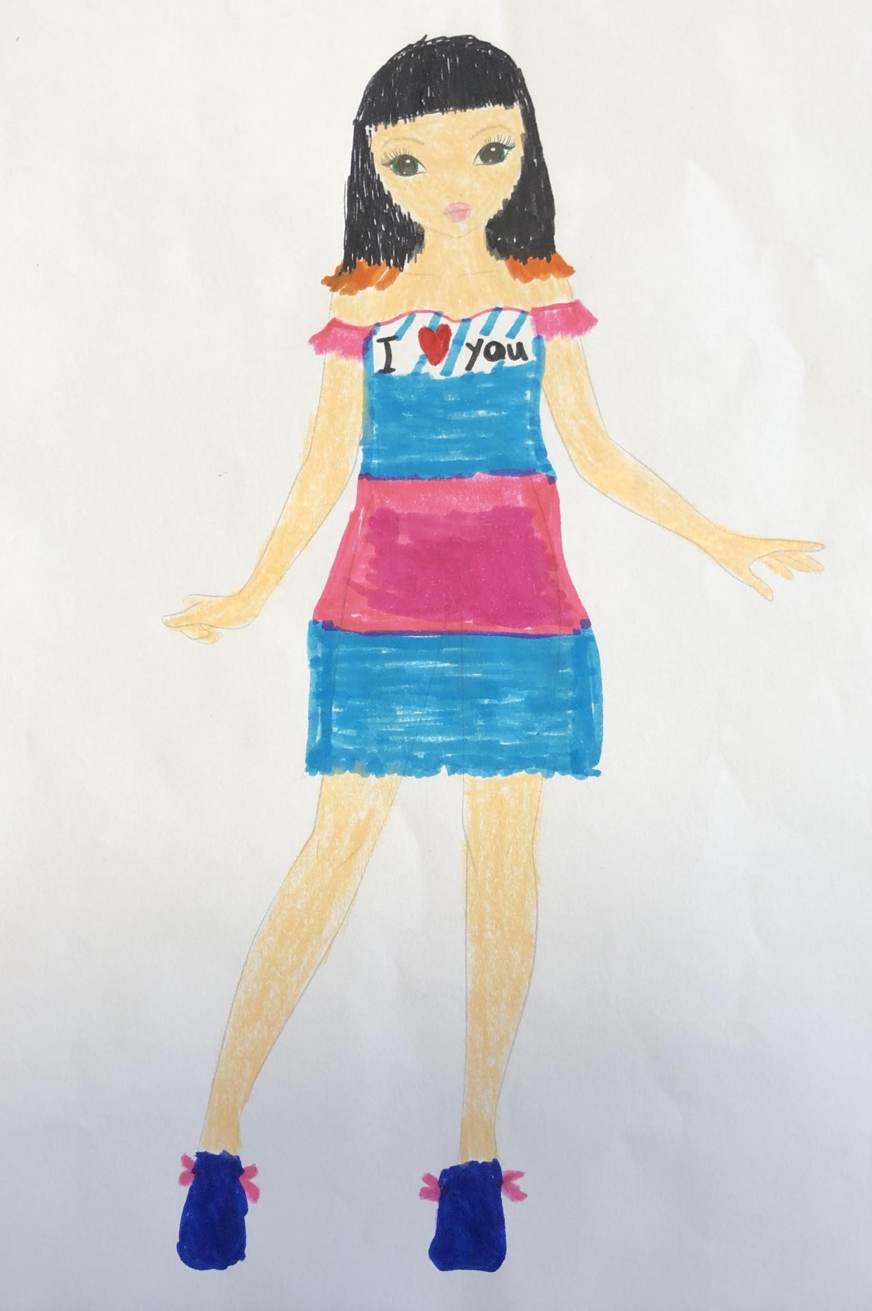 Constanza M., 10 años, de Chile