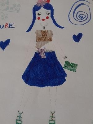Aurelia S., 10 años, de Almería la Gangosa