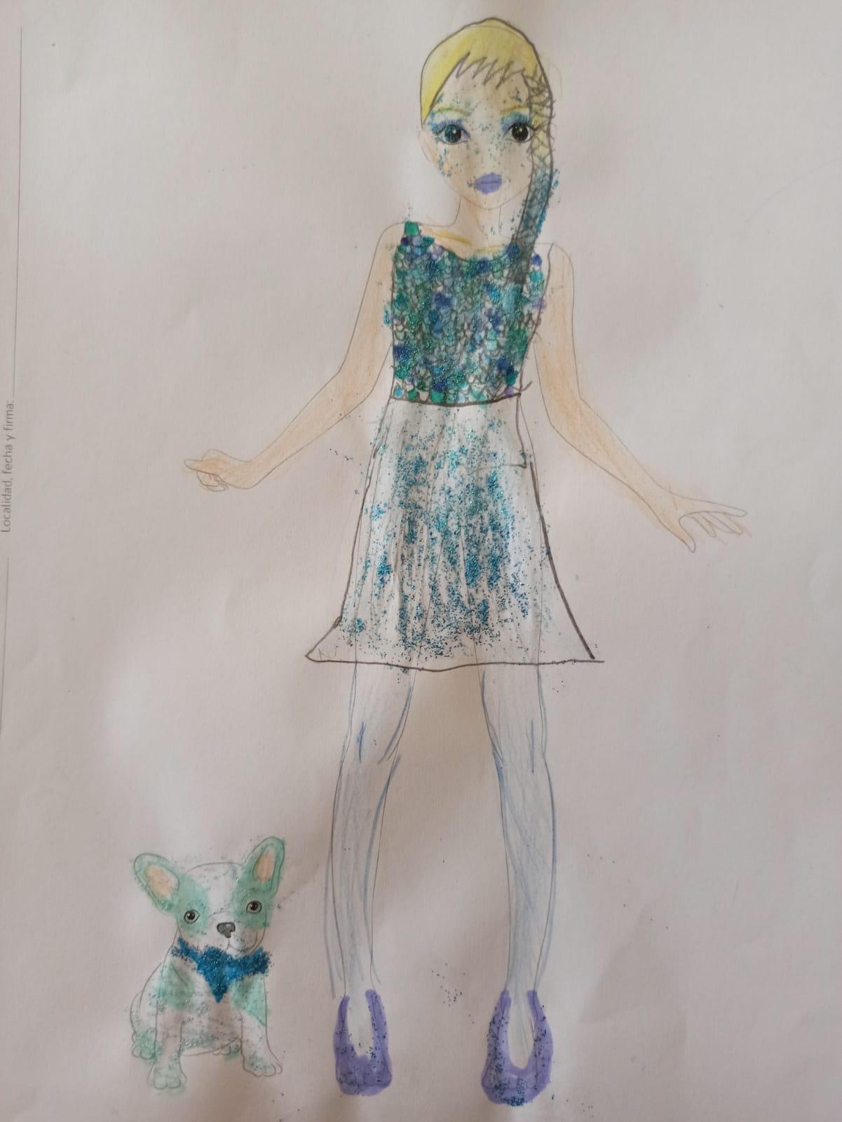 Sara C., 8 años, de Badajoz