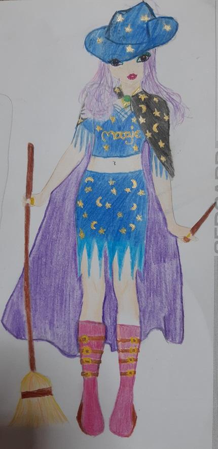 Tania A., 11 años, de Galicia