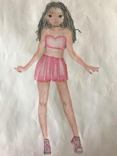 Daniela R., 9 años, de Villanueva de la Cañada