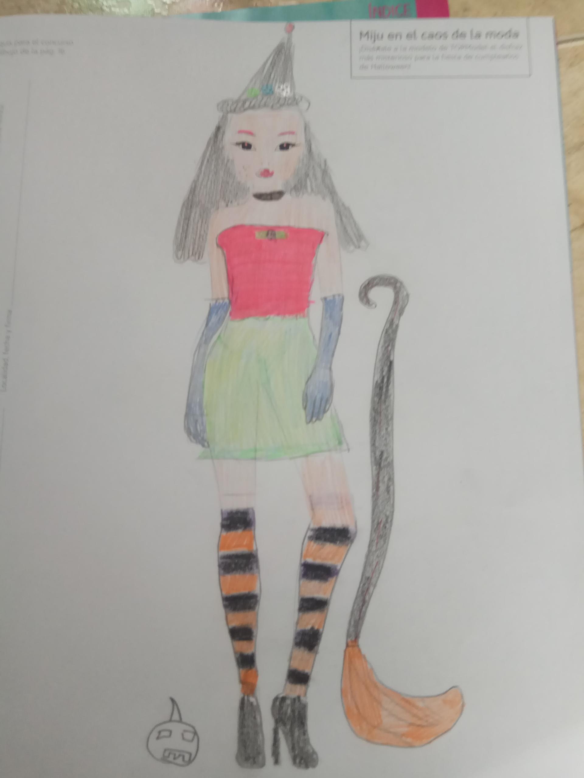 Ines S., 9 años, de Palma de Mallorca