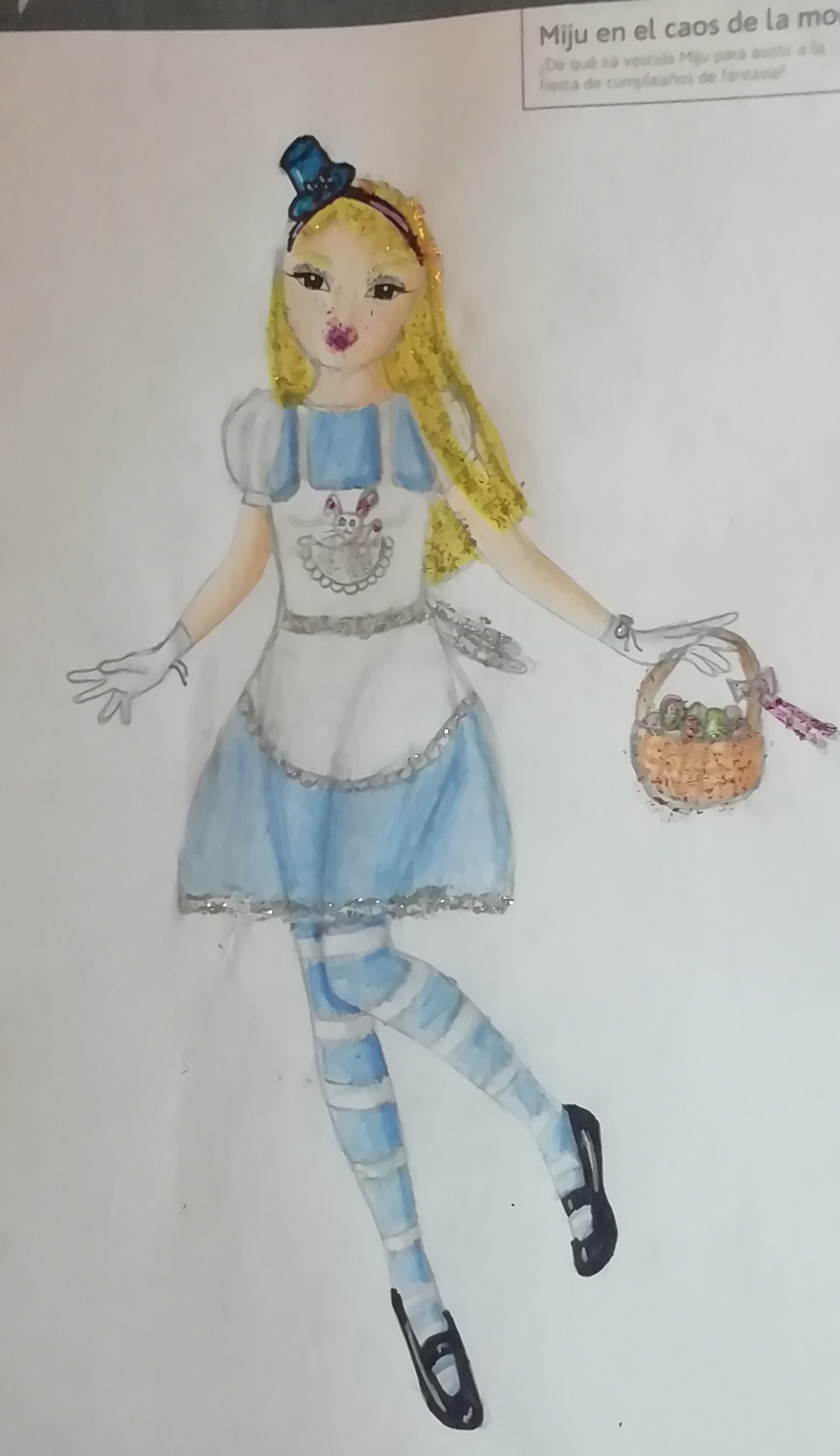 Sandra C., 9 años, de Zamora
