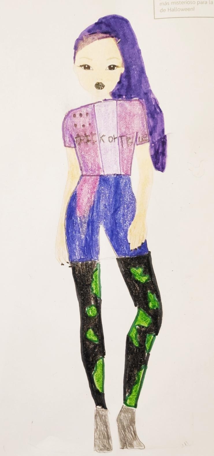 Sara P., 8 Jahre, aus Trobajo del Camino (León)