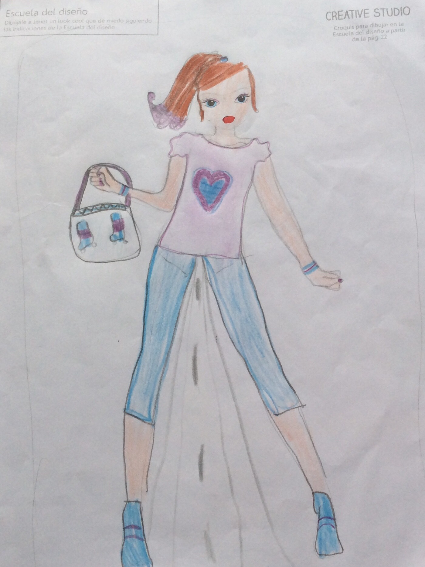 Elena H., 9 Jahre, aus Pereira- Colombia