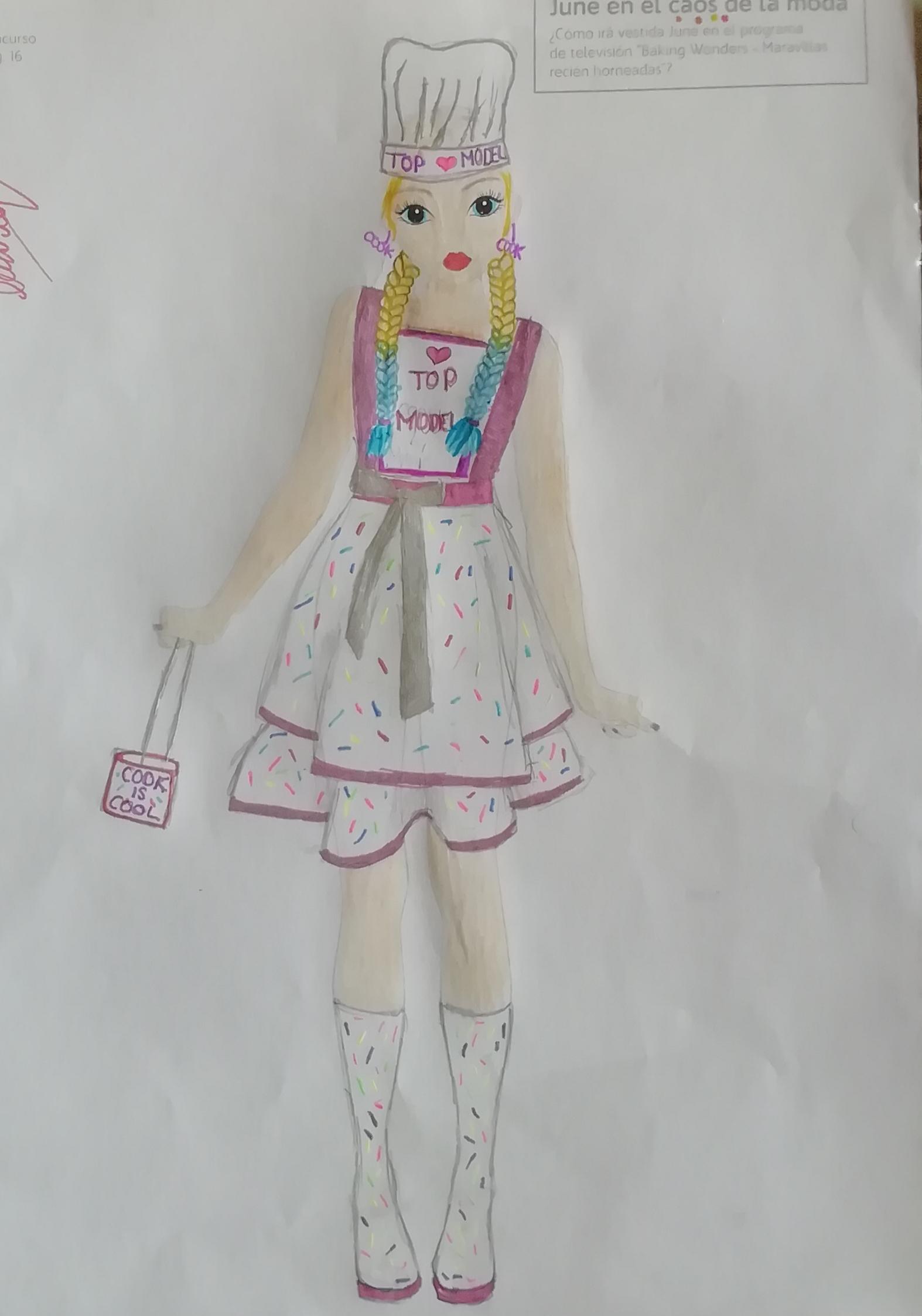 Sandra C., 9 Jahre, aus Zamora