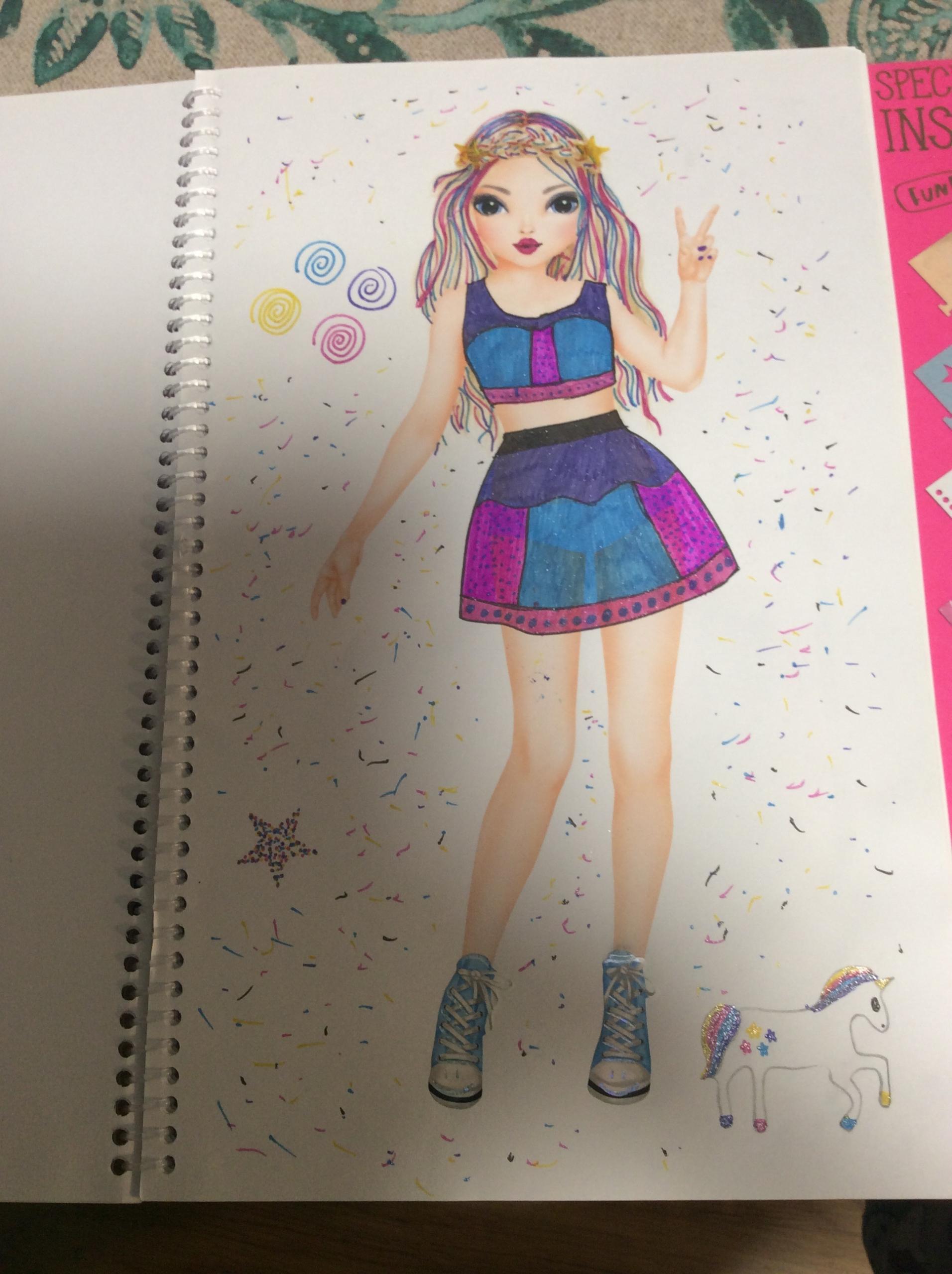 Sabina T., 9 Jahre, aus Zaragoza