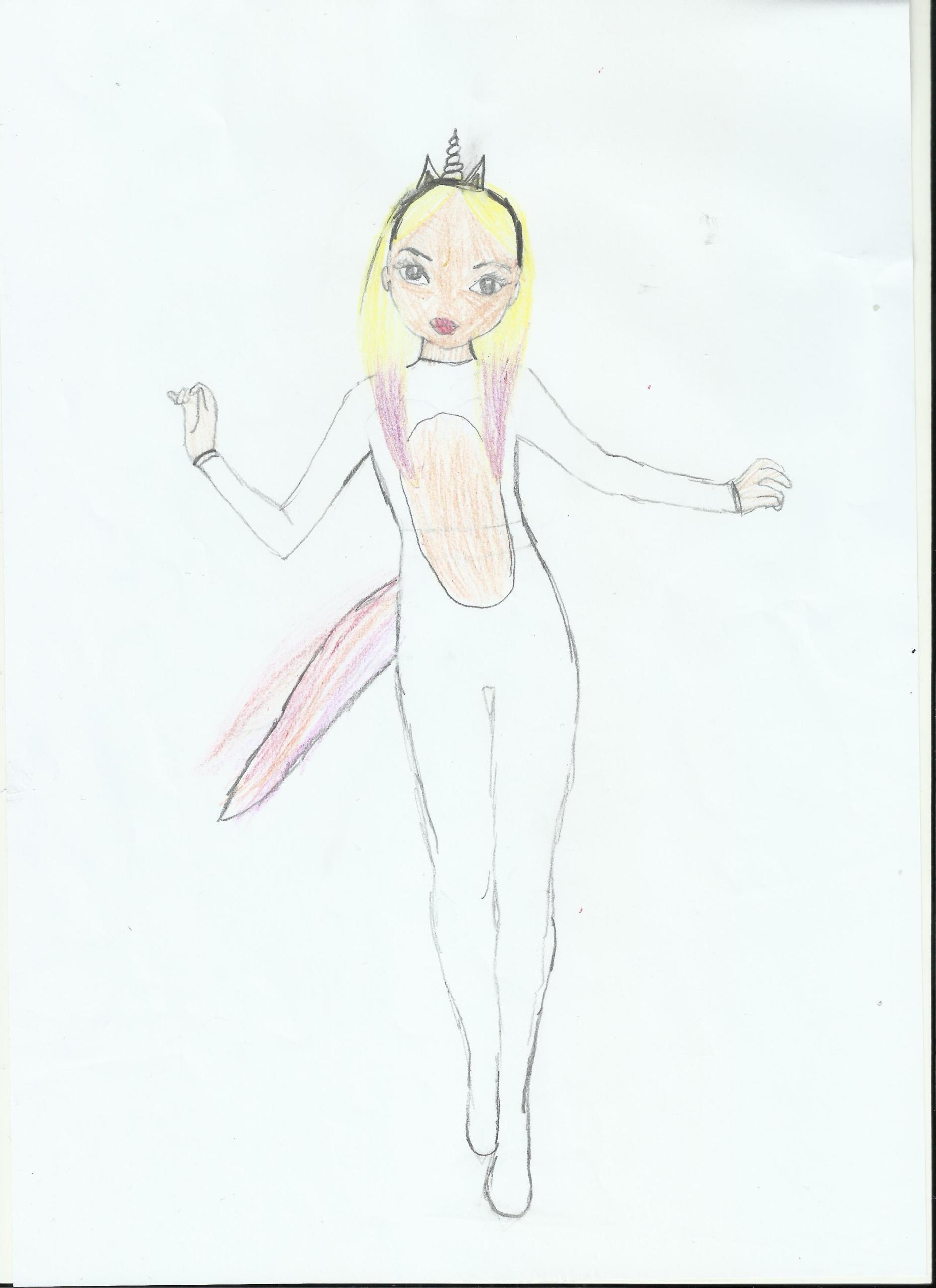 Patricia N., 9 Jahre, aus Madrid