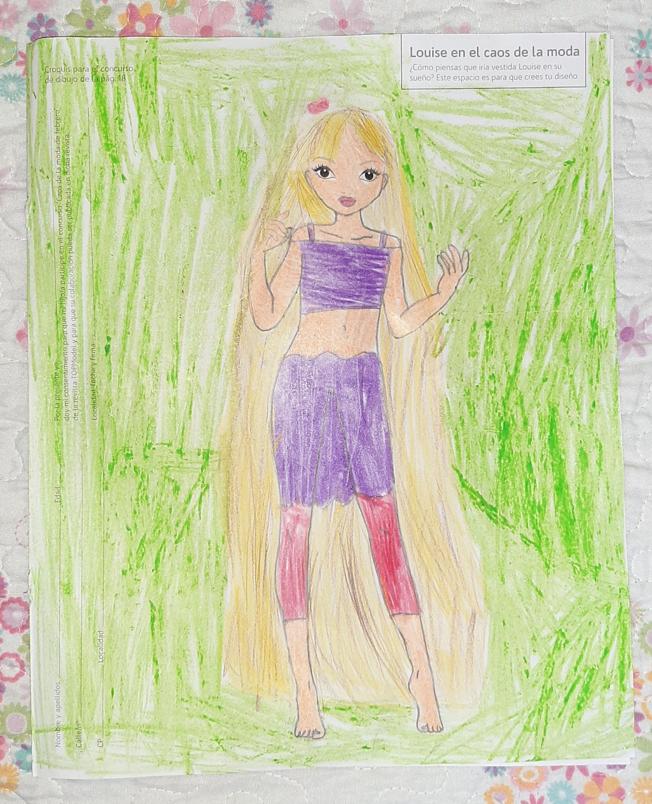 Isabel M., 8 Jahre, aus Sevilla