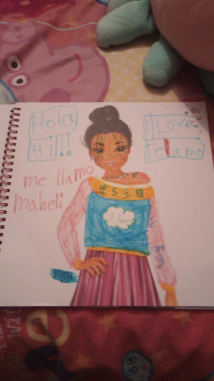 Mahe M., 7 años, de Ninguna