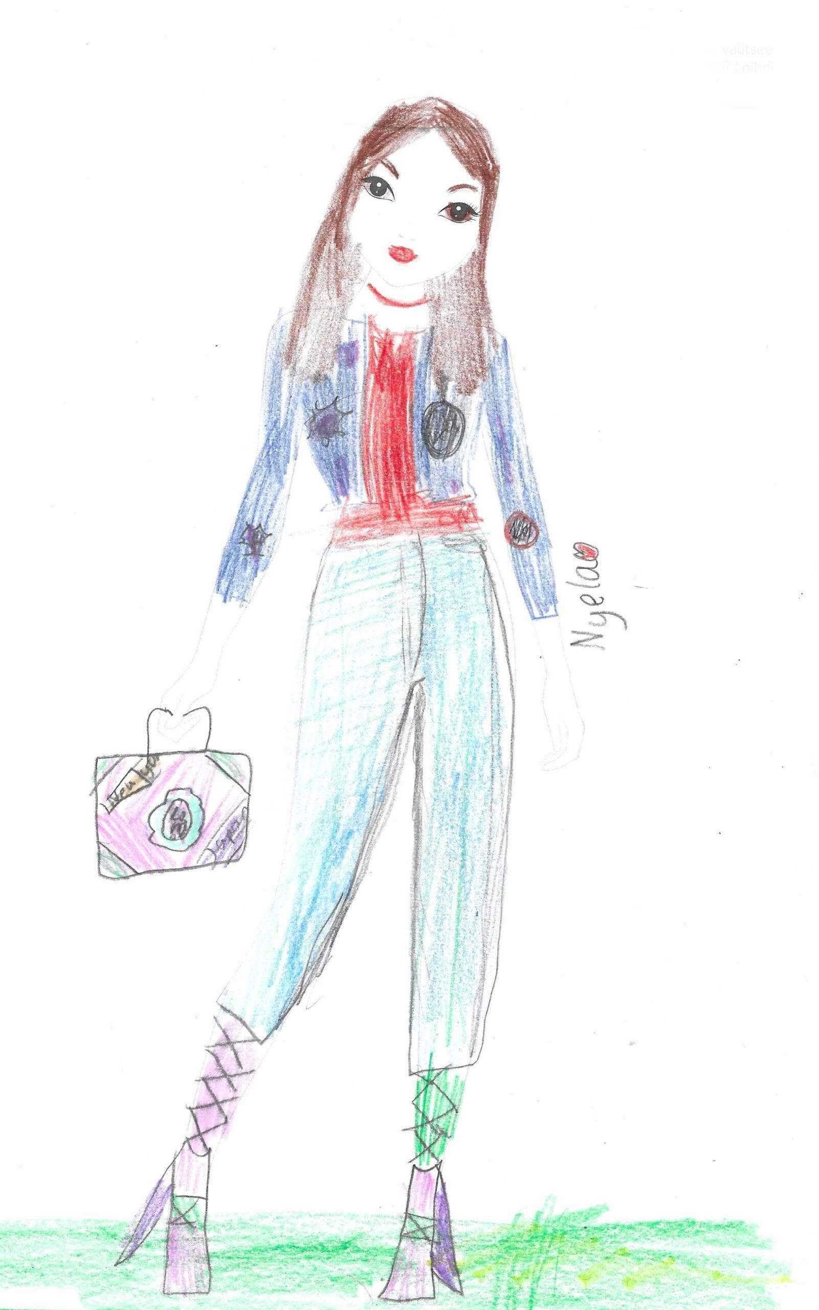 Tinja V., 7 Jahre, aus Helsinki