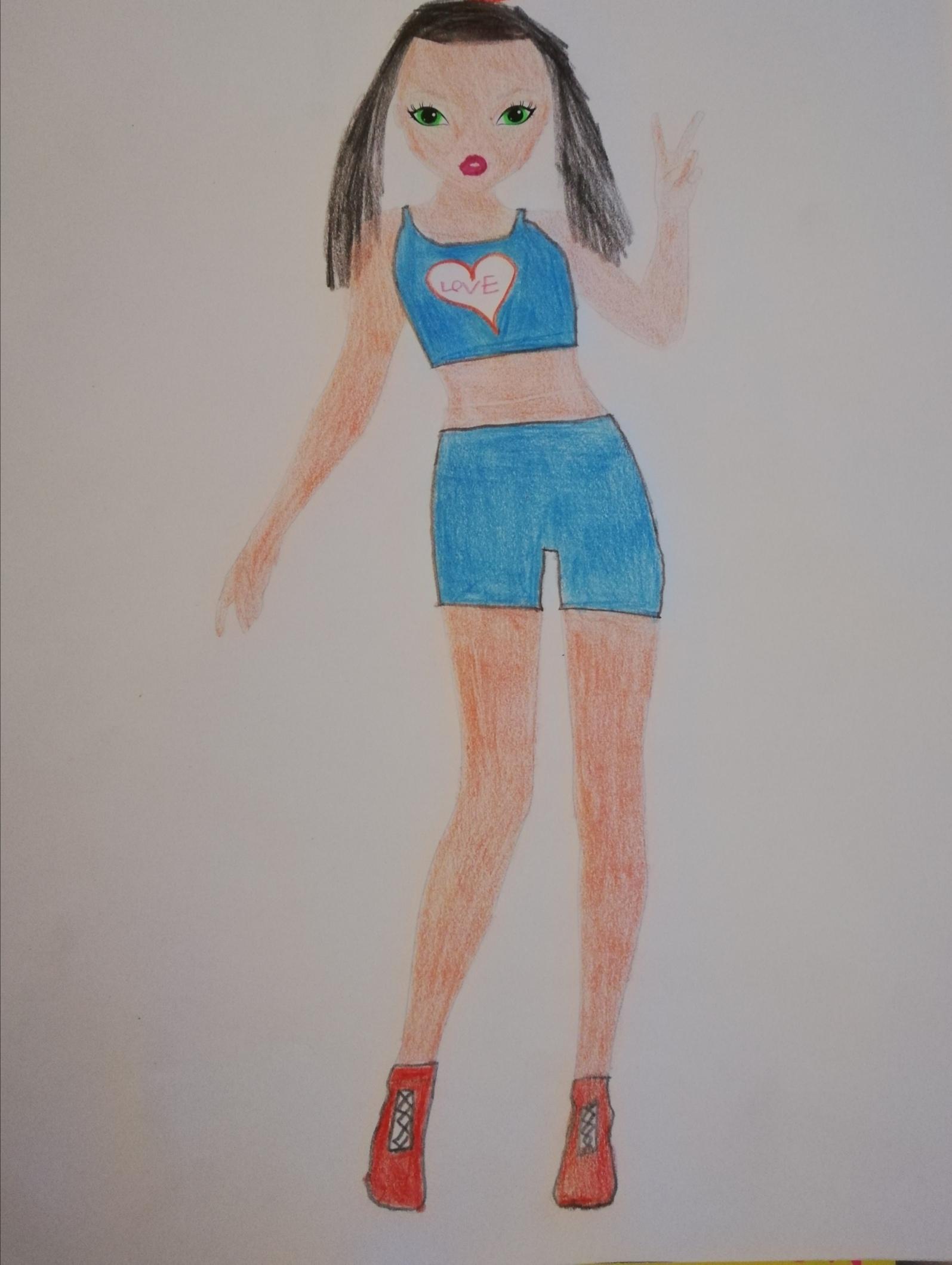 Marion L., 10ans, surChenee
