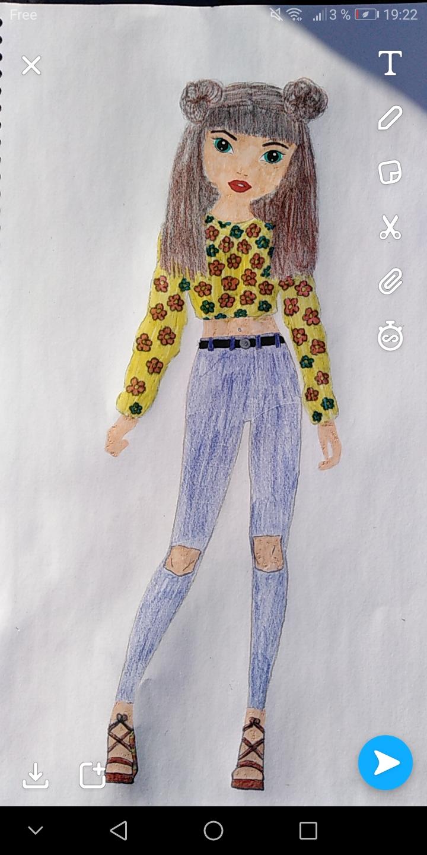 Lea D., 14ans, surSaint-nicolas-lez-arras