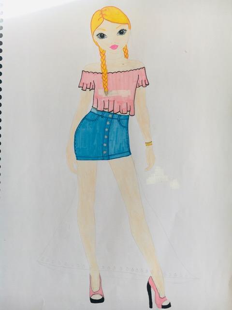 Leïla D., 12ans, sur Paris