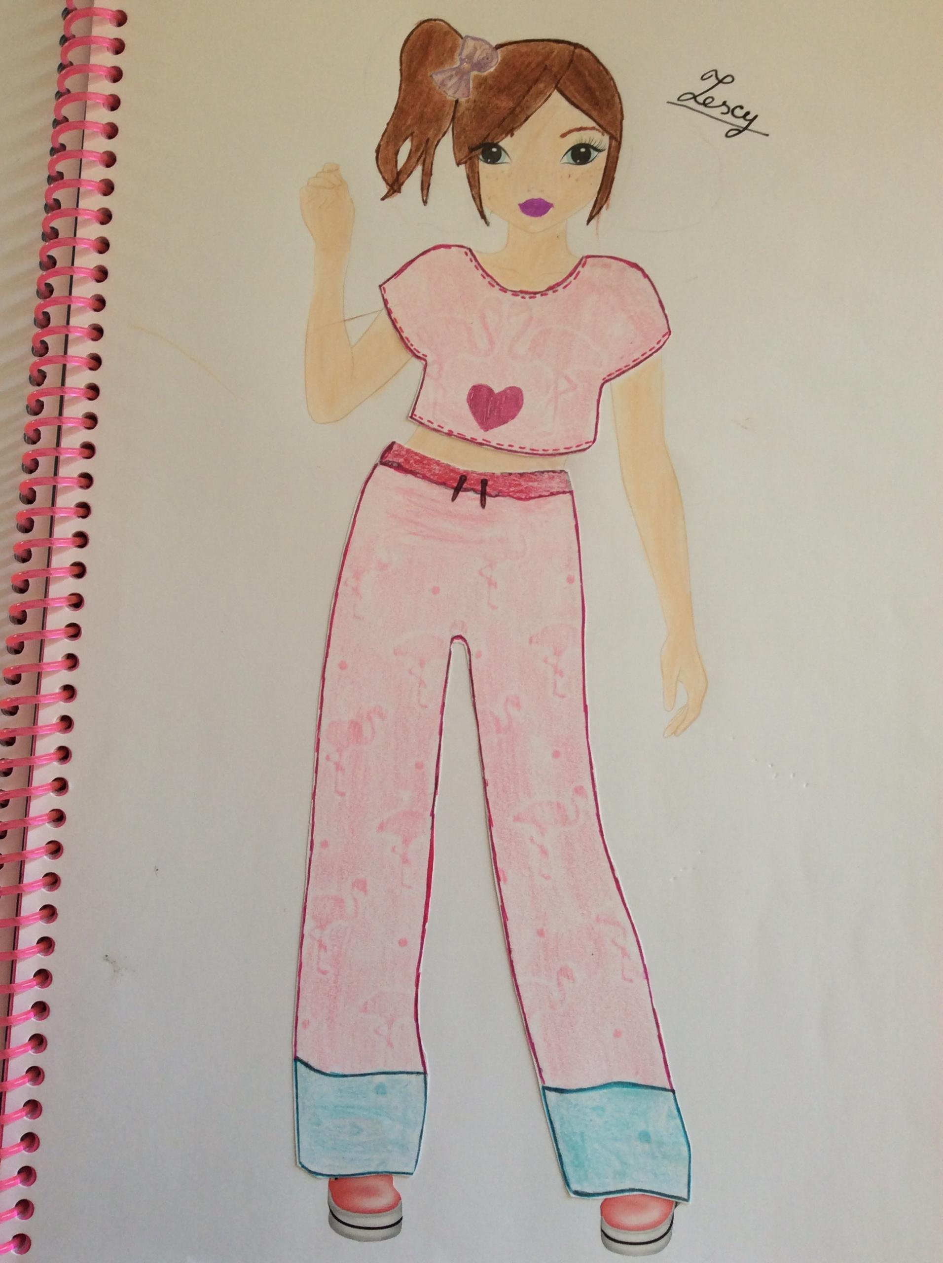 Noémie  A., 12 ans, sur Gerbaix