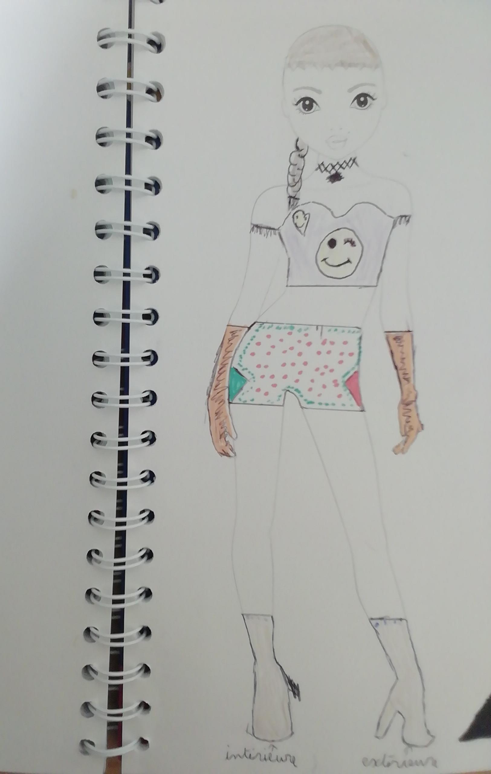 Zoé B., 11ans, surFrance