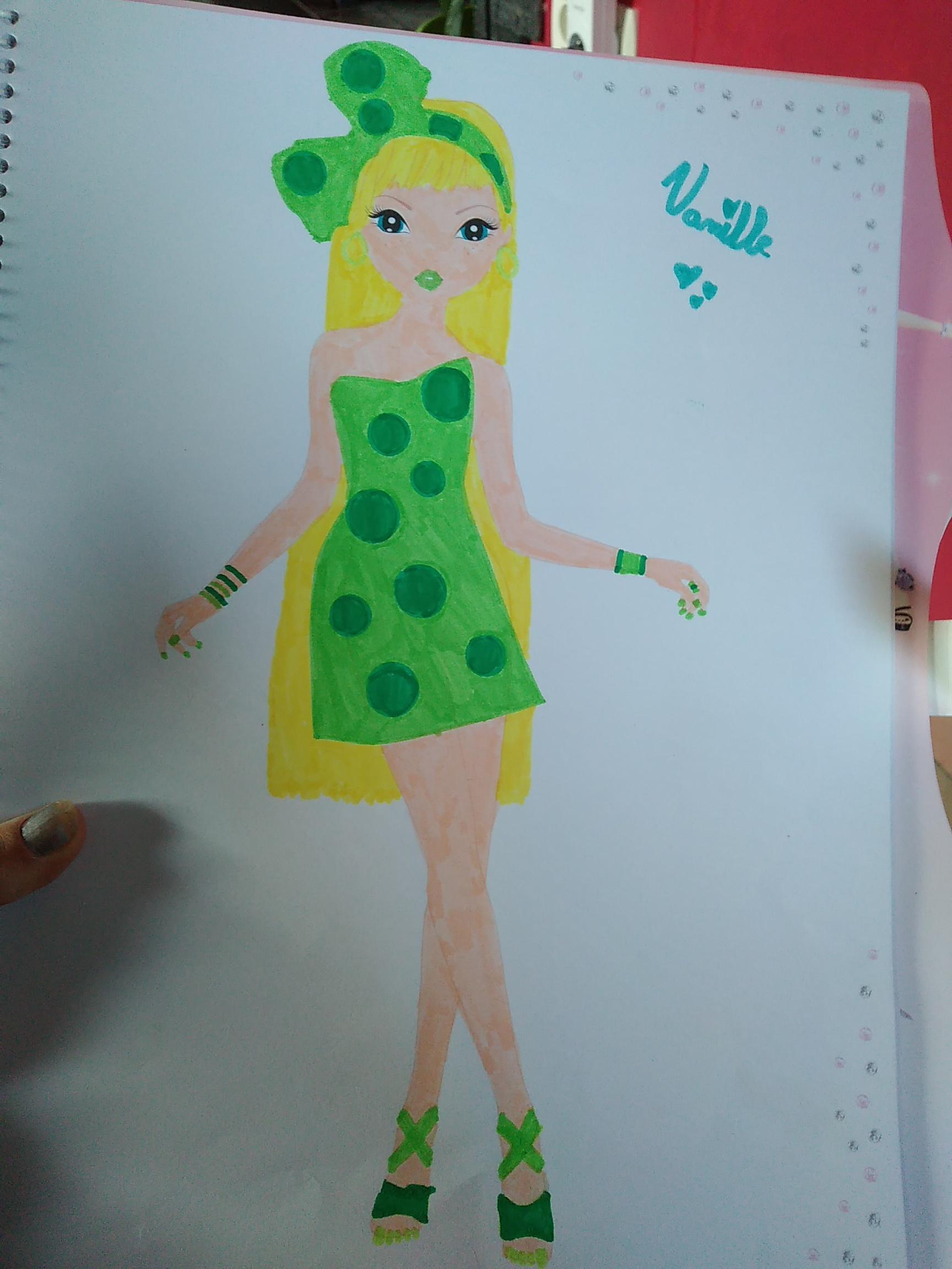 Kalina L., 10 ans, sur Lannion