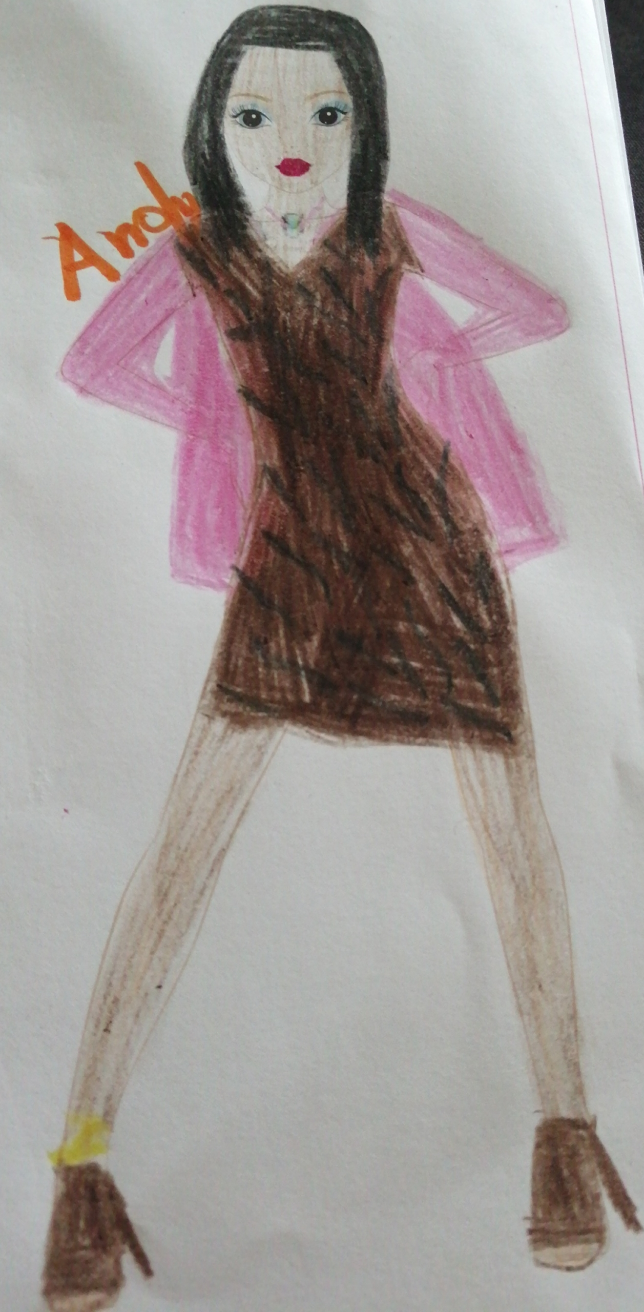 Helena  T., 7 ans, sur Luxemburgo