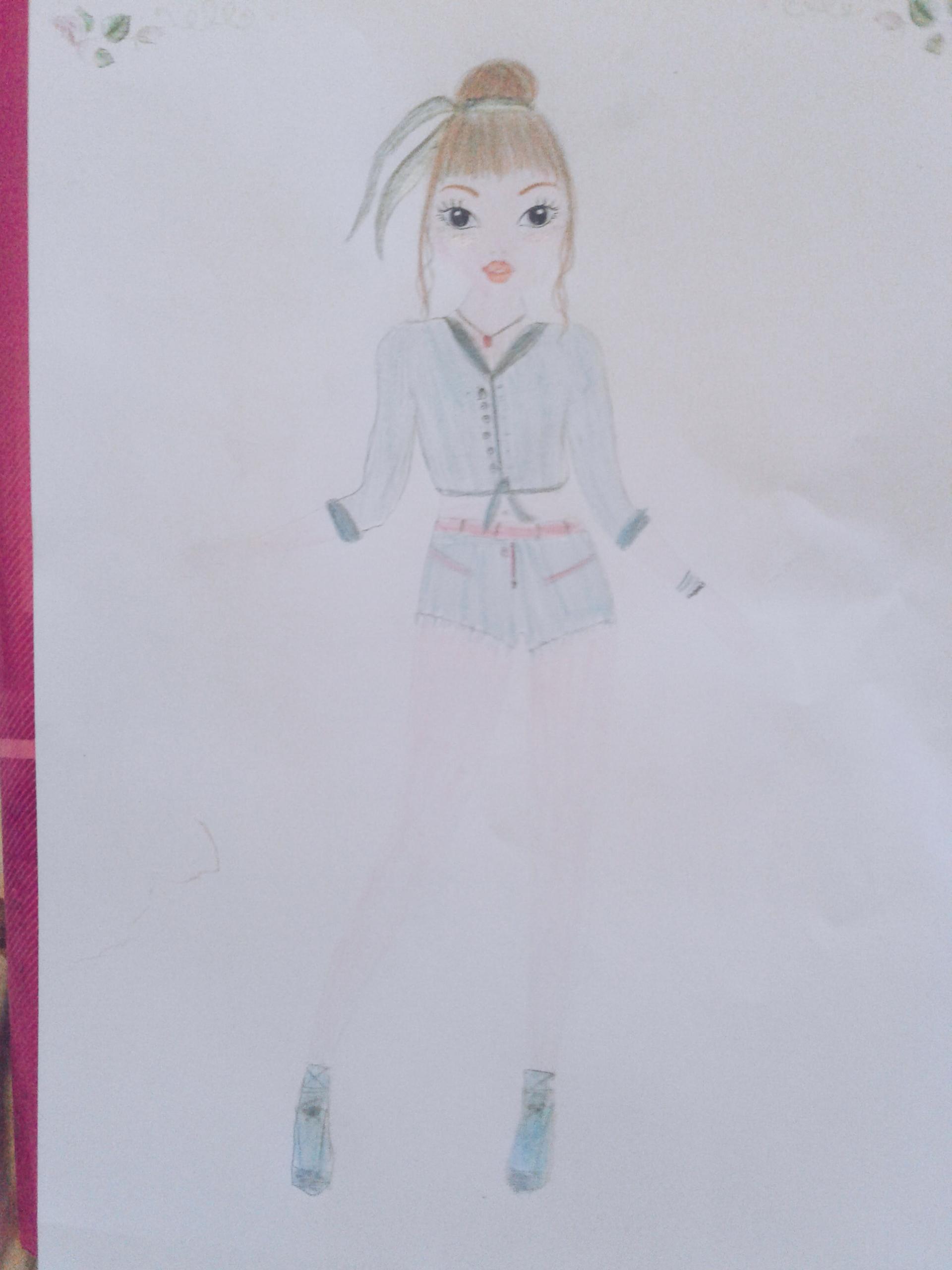Cétina C., 12 ans, sur France