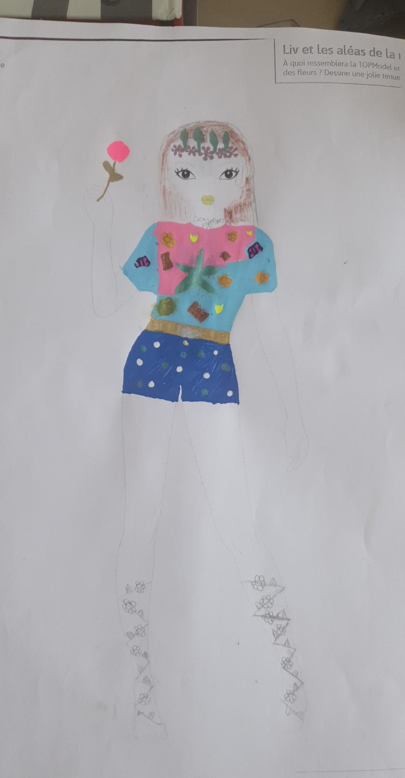 Inès S., 11 ans, sur Vannes