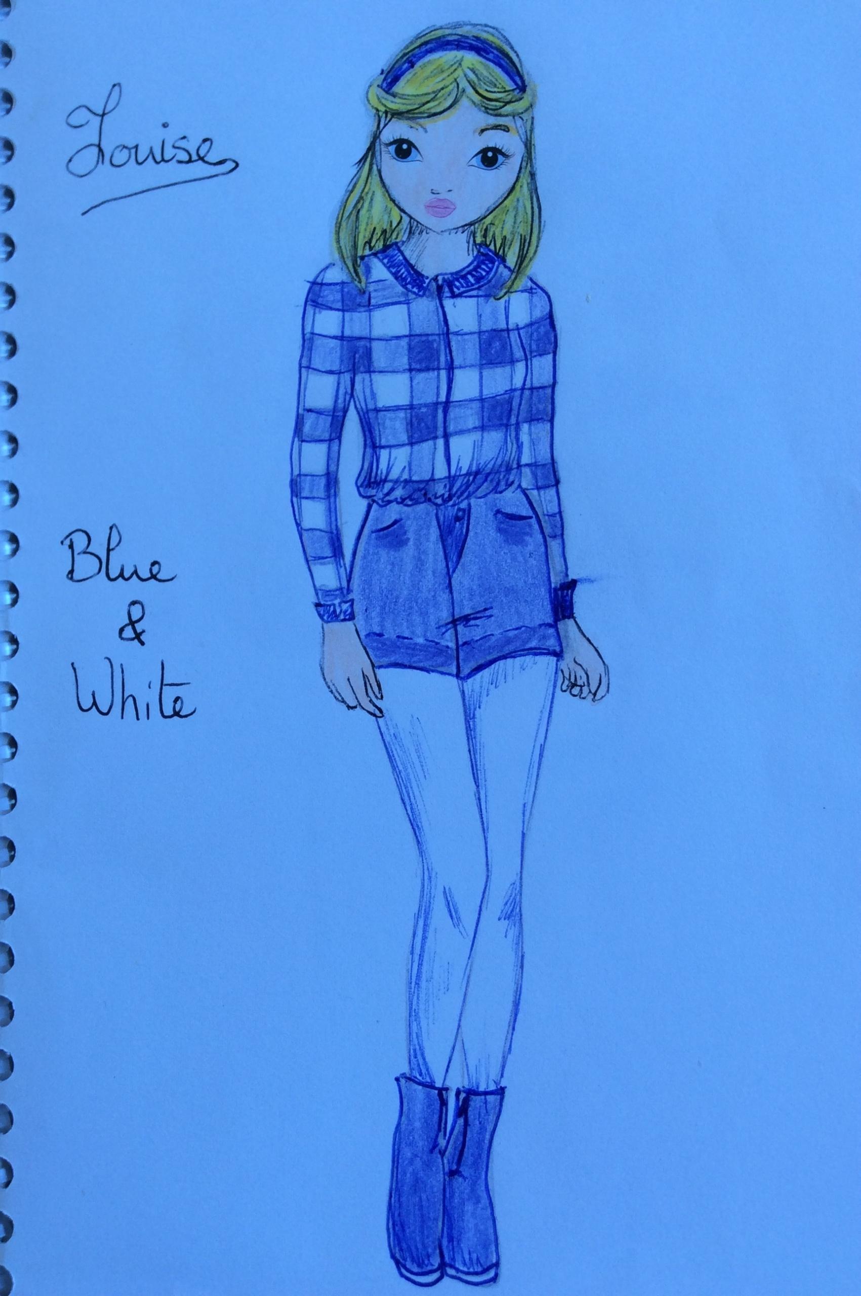 Naïs F., 11 ans, sur Angoulins