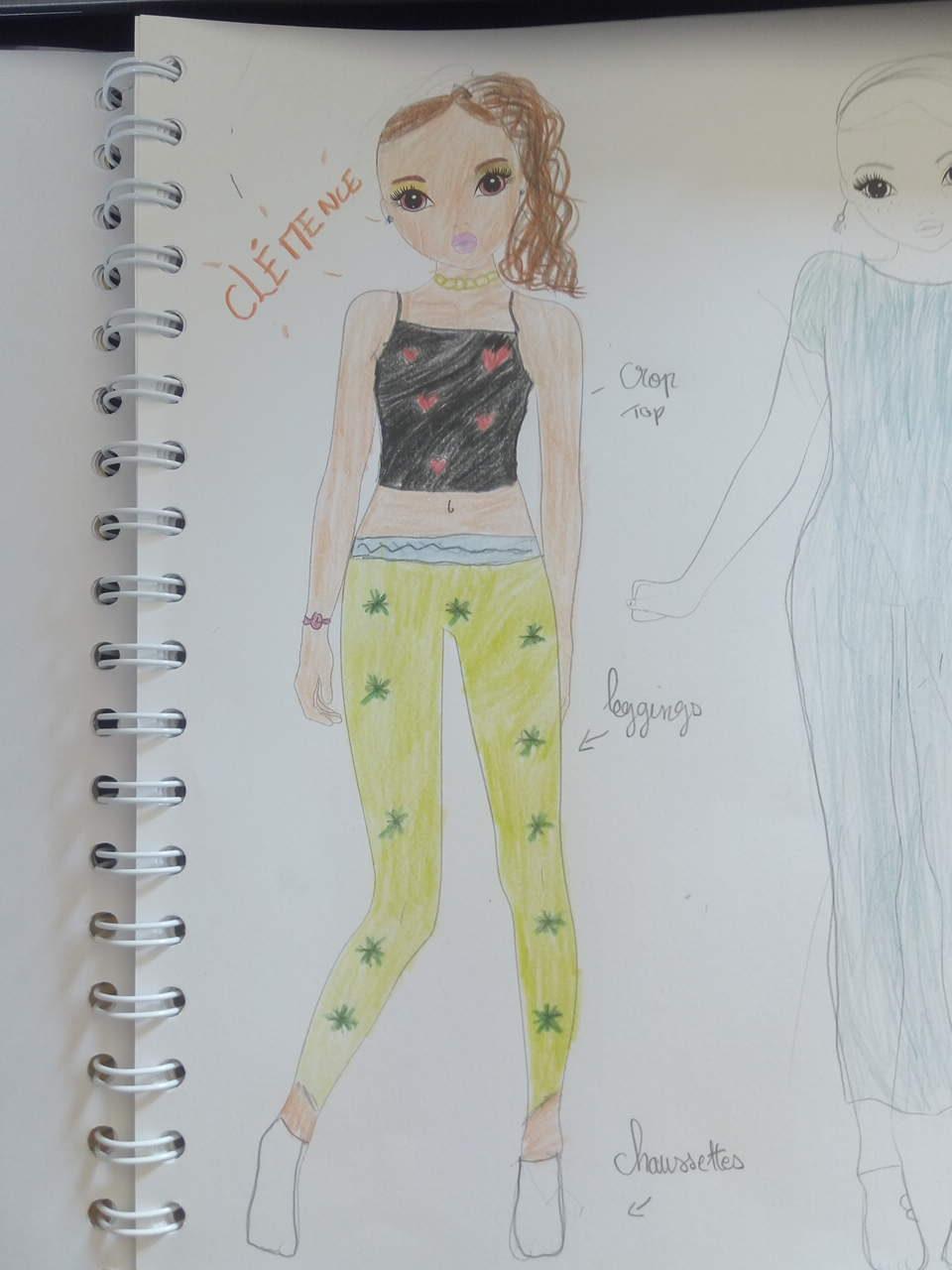 Yaelle D., 10 ans, sur Villeurbanne