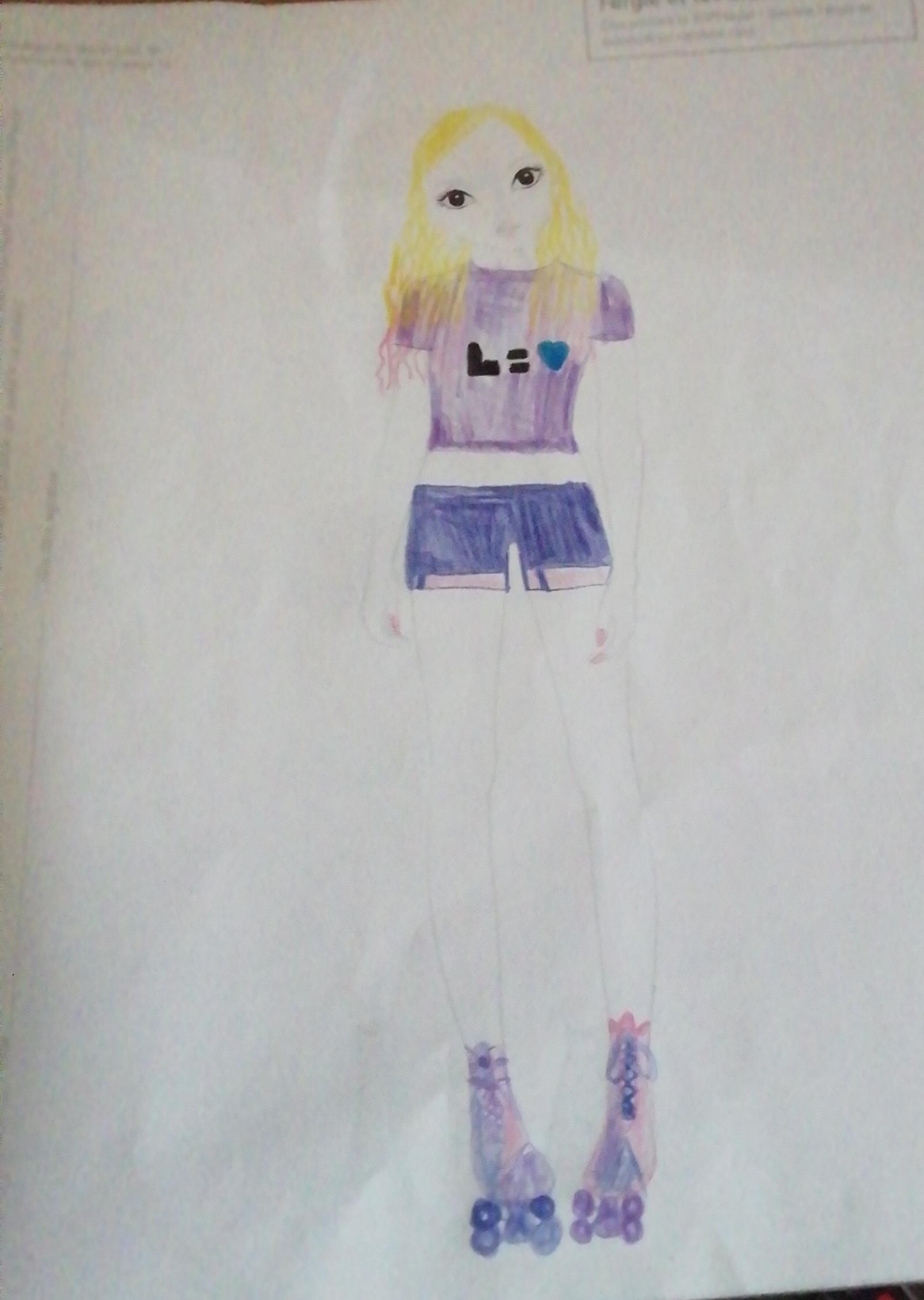 lila r., 12 ans, sur France