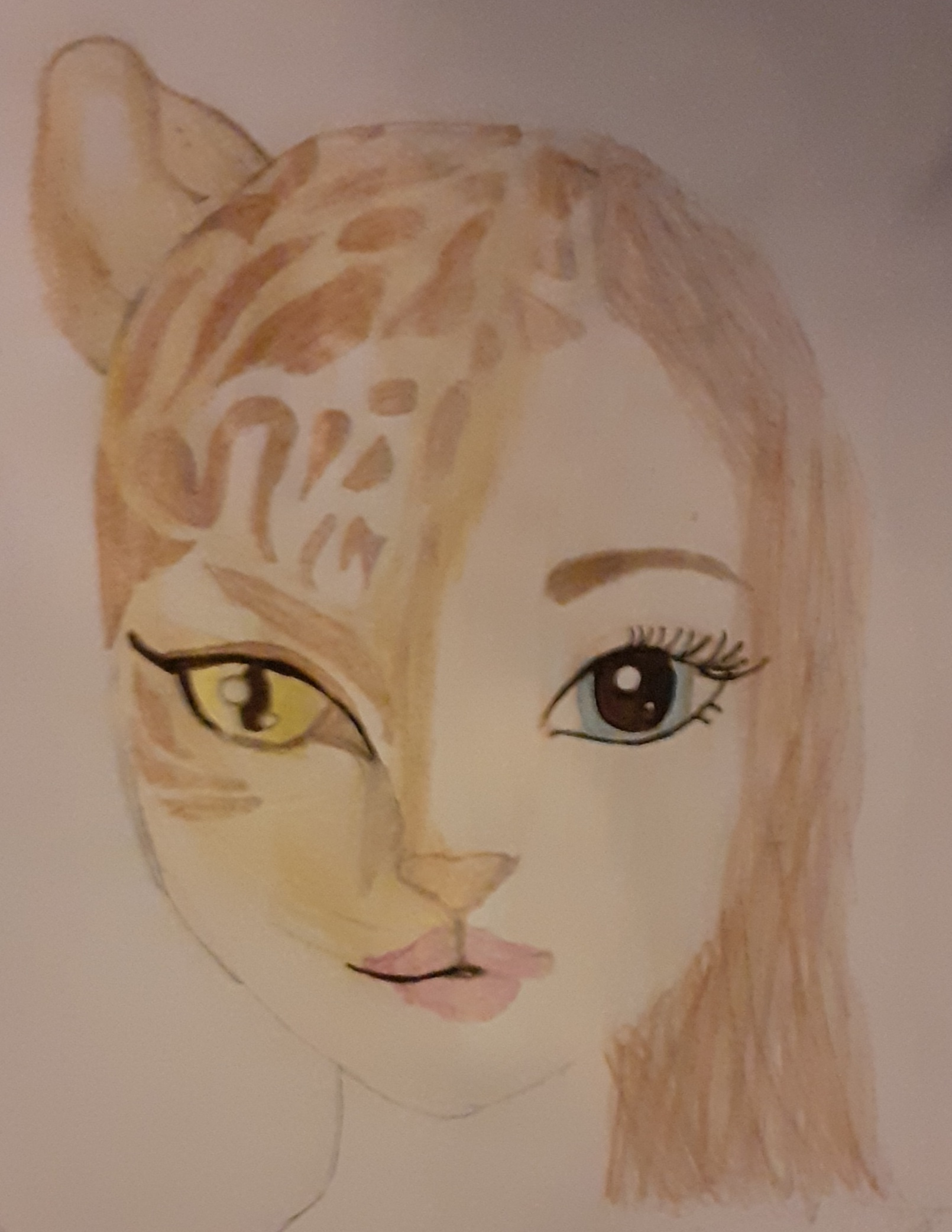 Louise J., 13 ans, sur Meurthe France