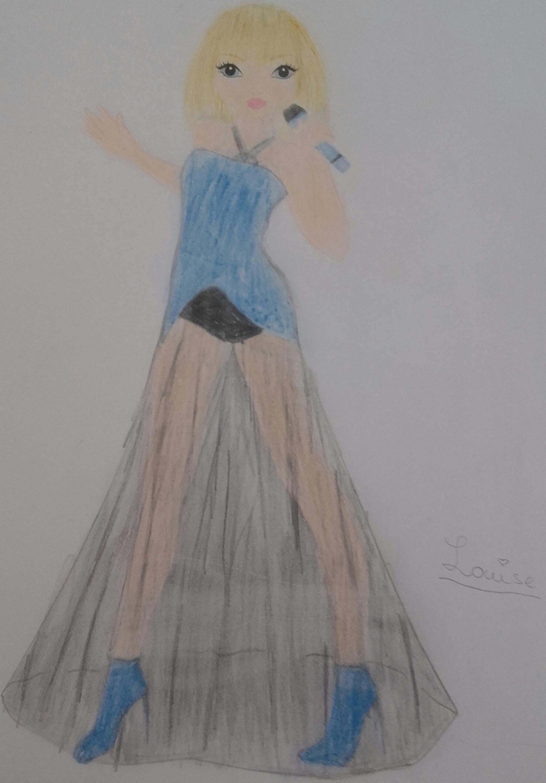 Emilie A., 11ans, surbrie comte robert