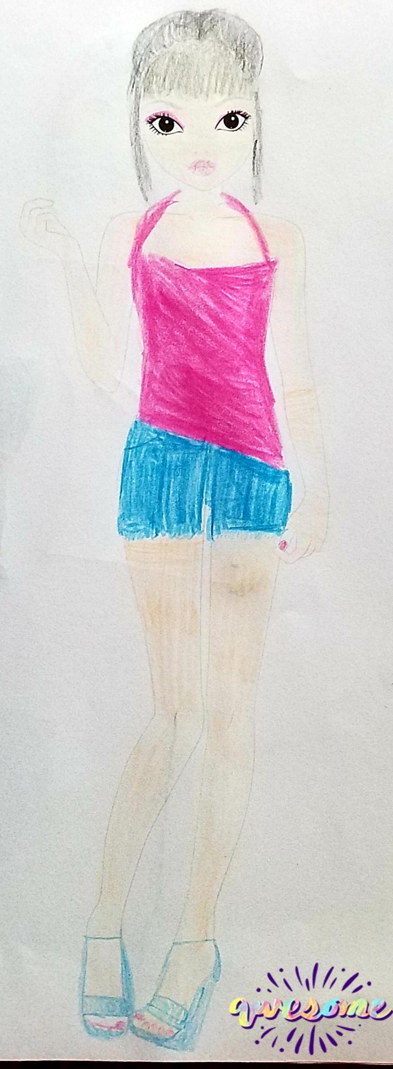 Eléonore G., 10ans, surMONTHOU SUR CHER